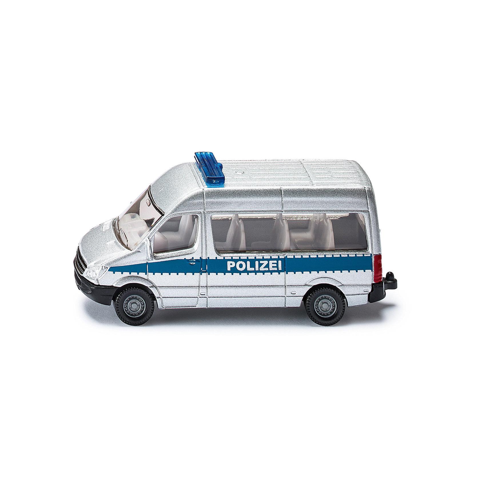 SIKU 0804 Полицейский автобус 1:55 от myToys