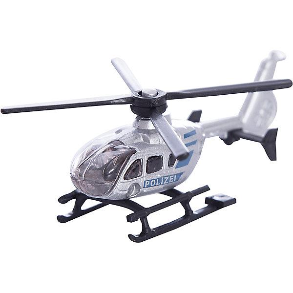 SIKU 0807 ВертолетСамолёты и вертолёты<br>Реалистичная высоко детализированная модель SIKU (СИКУ) 0807 Вертолет в масштабе 1:55.<br><br>Корпус выполнен из металла, лобовое стекло и боковые стёкла из прозрачного пластика, основной и хвостовой винты вращаются.<br><br>Дополнительная информация:<br>-Размеры: 7,5 x 2,4 x 3,2 см<br>-Материал: металл с элементами пластмассы <br><br>Благодаря высокому качеству исполнения и сохранению высокой детализации, он будет интересен не только детям, но и взрослым коллекционерам.<br><br>SIKU (СИКУ) 0807 Вертолет можно купить в нашем магазине.<br><br>Ширина мм: 97<br>Глубина мм: 78<br>Высота мм: 22<br>Вес г: 33<br>Возраст от месяцев: 36<br>Возраст до месяцев: 108<br>Пол: Мужской<br>Возраст: Детский<br>SKU: 1013734