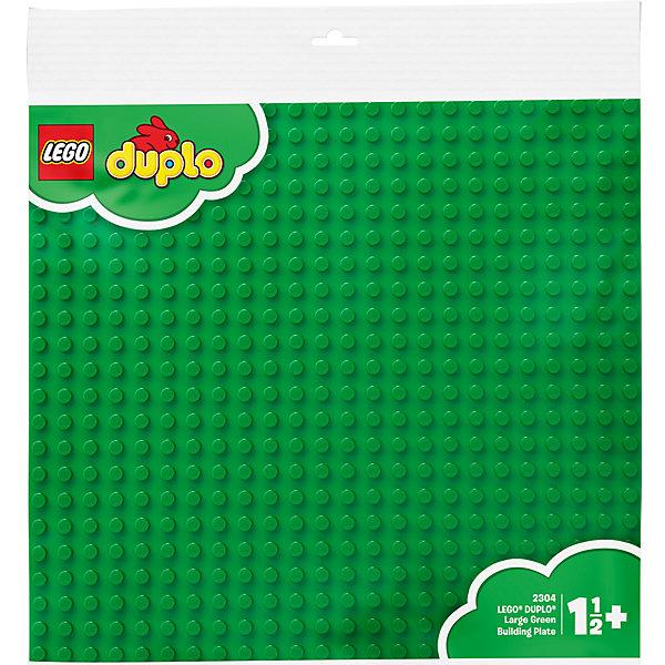 LEGO DUPLO 2304: Большая строительная пластинаКонструкторы Лего<br>Большая строительная пластина DUPLO. Цвет зеленый (LEGO 2304). Идеальная основа для крупных строительных проектов. <br><br>Большие размеры пластины позволят ребенку не только построить свой мир для игр, но и значительно расширить его границы. <br><br>Детали: <br><br>- пластина является также идеальным основанием для строительных элементов DUPLO более ранних выпусков <br>- размеры: 38 x 38 см <br><br>Дополнительная информация: <br><br>- LEGO-артикул: 2304 <br>- Возраст: от 2 до 5 лет <br>- Состав: 1 большая строительная пластина<br><br>Ширина мм: 390<br>Глубина мм: 396<br>Высота мм: 10<br>Вес г: 251<br>Возраст от месяцев: 24<br>Возраст до месяцев: 60<br>Пол: Унисекс<br>Возраст: Детский<br>SKU: 1025638