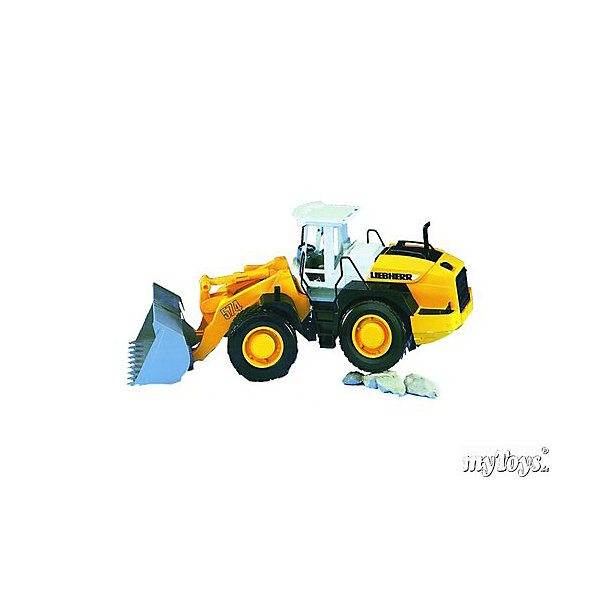 Погрузчик колёсный Liebherr  L574 с ковшом, BruderМашинки<br>Погрузчик колёсный Liebherr L574 с ковшом, Bruder (Брудер) - это качественная детализированная игрушка с подвижными элементами.<br>Погрузчик колёсный Liebherr L574 с ковшом от немецкого производителя игрушек Bruder (Брудер) в точности повторяет реально существующую машину. Все детали игрушки выполнены с максимальной точностью и подробной детализацией. Мощным колесным погрузчиком очень удобно управлять. Ваш ребенок с радостью будет играть с ним. Ковш погрузчика поднимается вверх и опускается вниз, фиксируясь в верхнем положении. Угол наклона ковша регулируется, фиксируется в 2-х положения, чтобы избежать нечаянного просыпания сыпучих грузов. Крышка моторного отсека открывается. Передние колеса поворачиваются. Кабина оснащена рулем и сидением, двери кабины открываются. Широкие прорезиненные колёса с рельефными протекторами обеспечивают тихий ход машины и сохранность напольного покрытия. Игрушка изготовлена из высококачественного пластика, устойчивого к износу и ударам. Продукция сертифицирована, экологически безопасна для ребенка, использованные красители не токсичны и гипоаллергенны.<br><br>Дополнительная информация:<br><br>- Размер машины: 52,5 x 18,5 x 22,5 см.<br>- Масштаб 1:16<br>- Материал: высококачественный пластик<br>- Цвет: желтый, черный, белый<br><br>Погрузчик колёсный Liebherr  L574 с ковшом, Bruder (Брудер) можно купить в нашем интернет-магазине.<br><br>Ширина мм: 571<br>Глубина мм: 195<br>Высота мм: 260<br>Вес г: 1499<br>Возраст от месяцев: 36<br>Возраст до месяцев: 96<br>Пол: Мужской<br>Возраст: Детский<br>SKU: 1210393