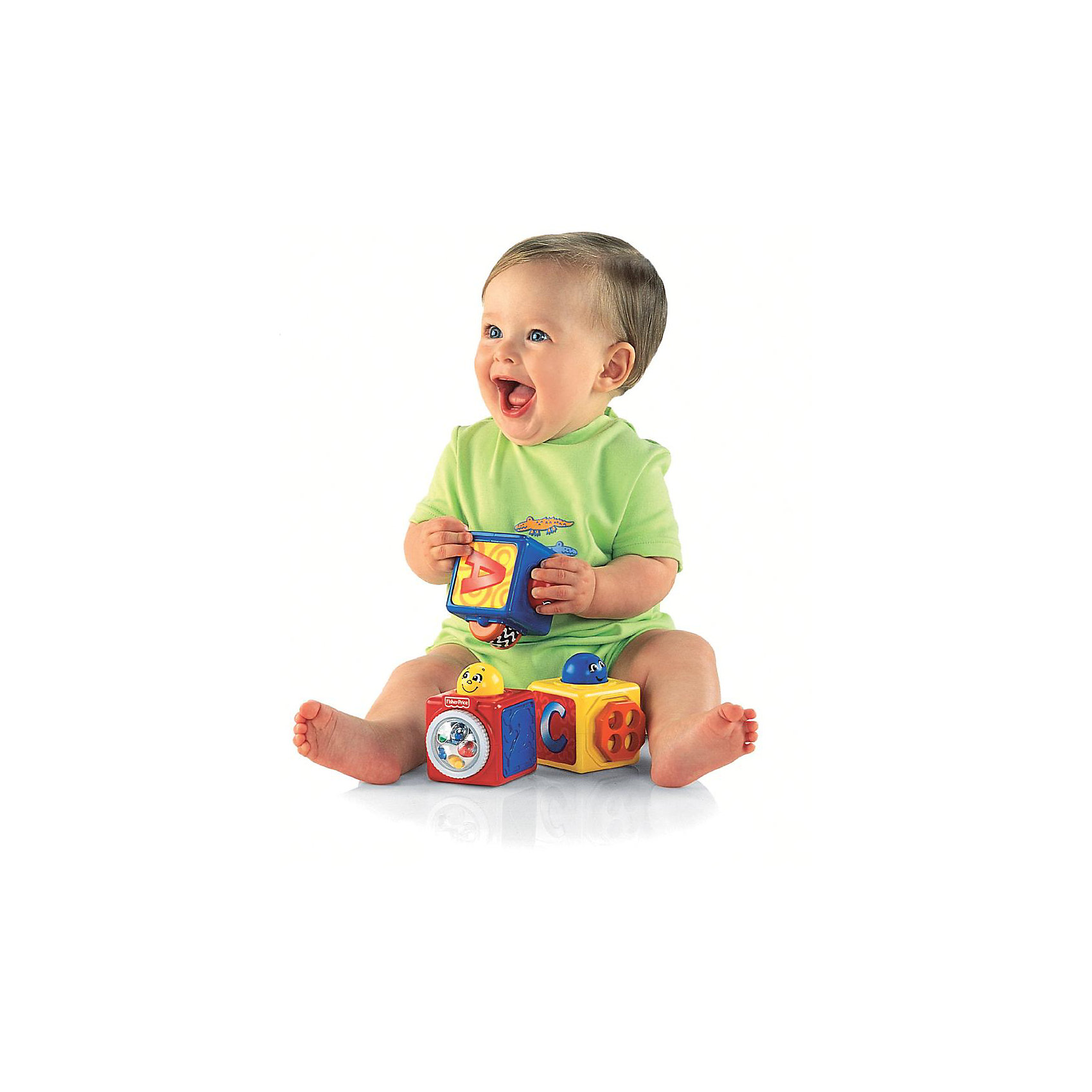 Первые кубики малыша, Fisher Price