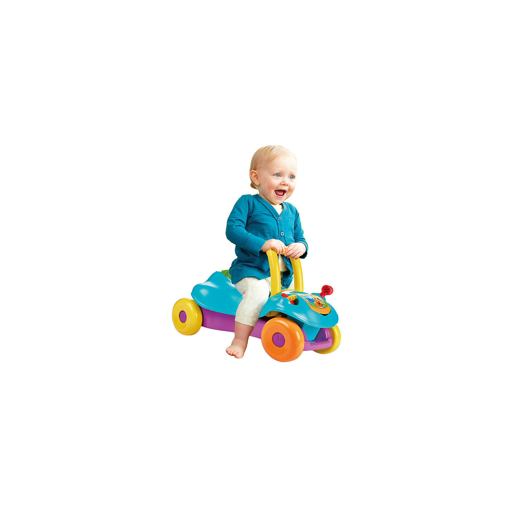 Ходунок-каталка 2 в 1 PLAYSKOOL, синий (Hasbro)
