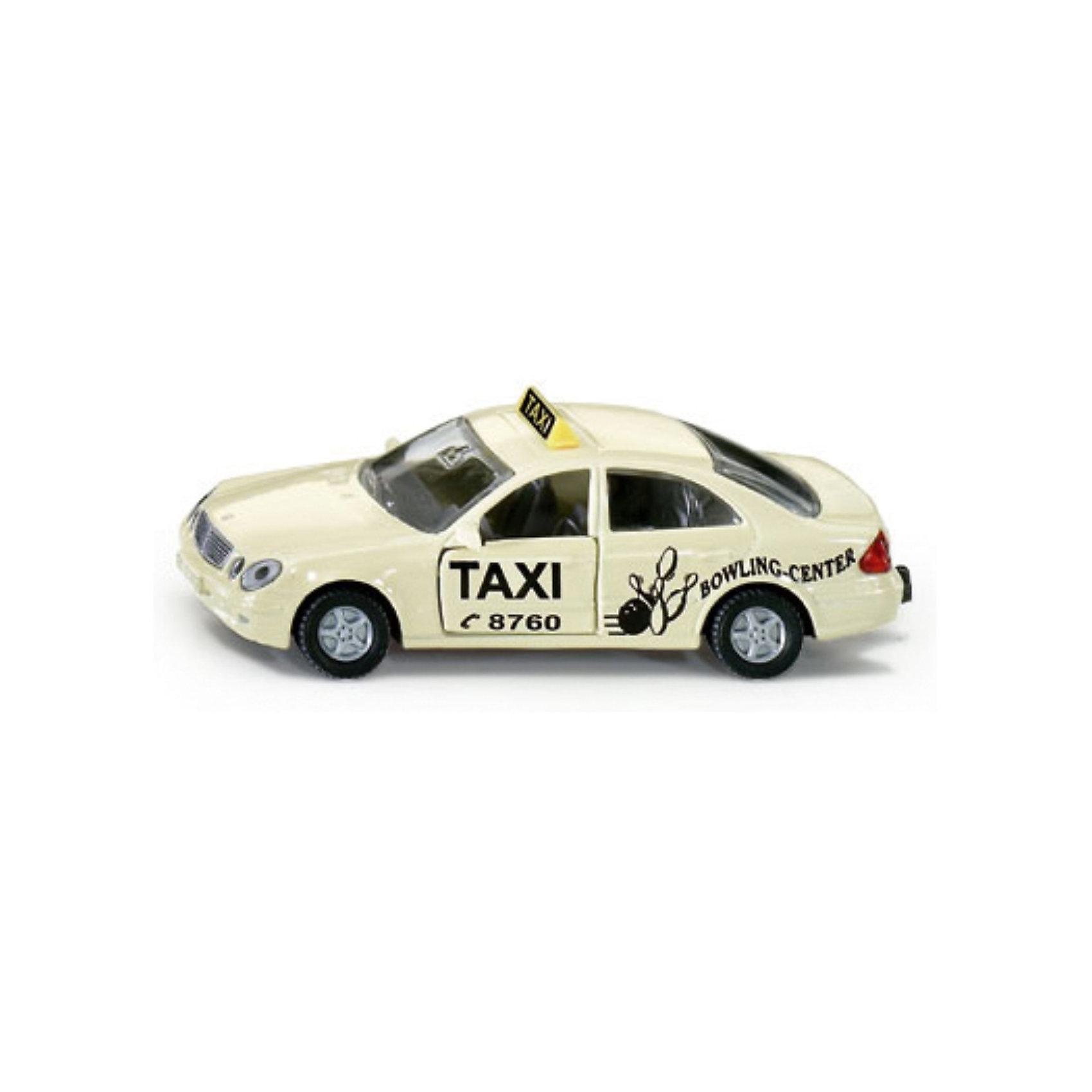 SIKU 1363 ТаксиМашинки<br>Такси 1363, Siku, станет замечательным подарком для автолюбителей всех возрастов. Модель представляет из себя реалистичную копию автомобиля такси марки Мерседес-Бенц и отличается высокой степенью детализации и тщательной проработкой всех элементов. Машина оснащена прозрачными лобовыми стеклами, в салоне можно увидеть сиденья и руль, передние двери открываются, подвижные колеса вращаются. Корпус модели выполнен из металла, детали изготовлены из ударопрочной пластмассы.<br><br>Дополнительная информация:<br><br>- Материал: металл, пластик.<br>- Масштаб: 1:55.<br>- Размер: 9,8 x 3,8 x 7,8 см.<br>- Вес: 100 гр.<br><br> 1363 Такси, Siku, можно купить в нашем интернет-магазине.<br><br>Ширина мм: 98<br>Глубина мм: 81<br>Высота мм: 40<br>Вес г: 62<br>Возраст от месяцев: 36<br>Возраст до месяцев: 96<br>Пол: Мужской<br>Возраст: Детский<br>SKU: 1439852