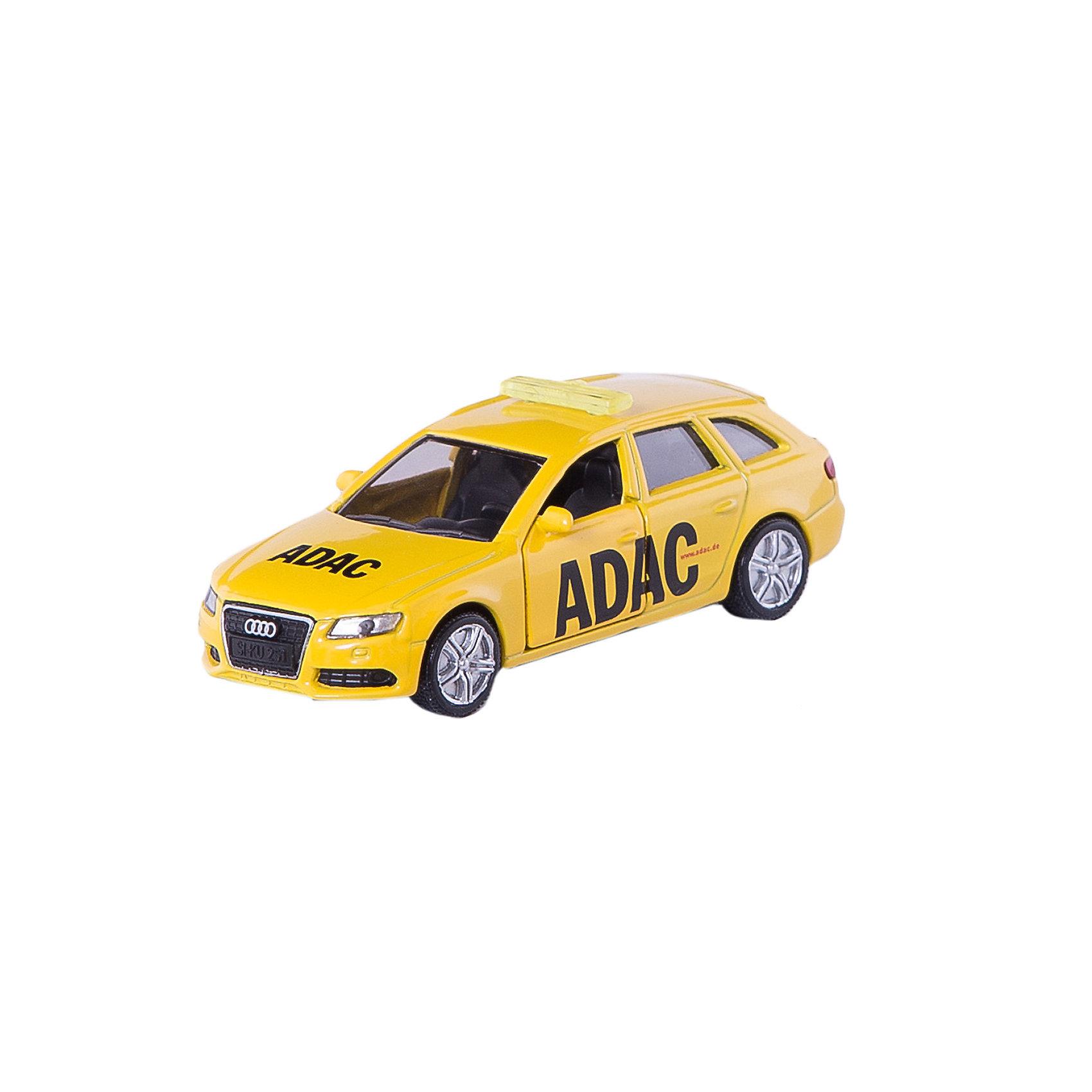 SIKU 1422 Автомобиль аварийной службы Всеобщего германского автомобильного клуба ADACМашинки<br>Автомобиль аварийной службы Всеобщего германского автомобильного клуба ADAC из серии SUPER фирмы SIKU. Знаменитая желтая машина в маленьком формате спешит на помощь. <br><br>Д/Ш/В: 89x36x33 мм<br><br>+++Примечание+++<br>Фирма SIKU оставляет за собой право на изменение цвета и технических характеристик моделей. При демонстрации новинок в ряде случаев используются оригинальные фотографии и прототипы. Поставляемая модель может отличаться от представленной на фотографии.<br><br>Ширина мм: 96<br>Глубина мм: 78<br>Высота мм: 35<br>Вес г: 62<br>Возраст от месяцев: 36<br>Возраст до месяцев: 96<br>Пол: Мужской<br>Возраст: Детский<br>SKU: 1439856
