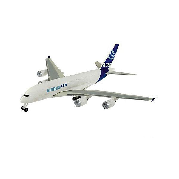 Аэробус A 380 First Flight (1:144)Самолеты и вертолеты<br>Характеристики товара:<br><br>• возраст: от 10 лет;<br>• масштаб: 1:144;<br>• количество деталей: 163 шт;<br>• материал: пластик; <br>• клей и краски в комплект не входят;<br>• длина модели: 50,4 см;<br>• диаметр винта: 55,5 см;<br>• бренд, страна бренда: Revell (Ревел),Германия;<br>• страна-изготовитель: Китай.<br><br>Сборная модель для склеивания «Аэробус A 380 First Flight» поможет вам и вашему ребенку придумать увлекательное занятие на долгое время и заполнит досуг веселой игрой. <br><br>Набор включает в себя 163 элемента из высококачественного пластика, а также схему для окрашивания модели и инструкция, с помощью которых можно собрать достоверную уменьшенную копию настоящего самолета. Игрушка получится внушительных размеров и займет достойное место в вашей коллекции.<br> <br>Процесс сборки развивает интеллектуальные и инструментальные способности, воображение и конструктивное мышление, а также прививает практические навыки работы со схемами и чертежами.<br><br>Обращаем ваше внимание на тот факт, что для сборки этой модели клей и краски в комплект не входят. <br><br>Сборную модель для склеивания «Аэробус A 380 First Flight», 163 дет., Revell (Ревел) можно купить в нашем интернет-магазине.<br>Ширина мм: 97; Глубина мм: 235; Высота мм: 535; Вес г: 875; Возраст от месяцев: 168; Возраст до месяцев: 228; Пол: Мужской; Возраст: Детский; SKU: 1442137;