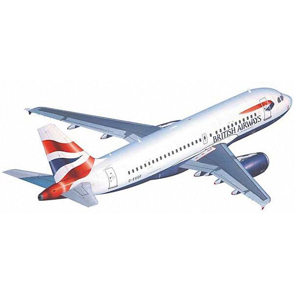 Аэробус Airbus A 319Модели для склеивания<br>Характеристики товара:<br><br>• возраст: от 10 лет;<br>• масштаб: 1:144;<br>• количество деталей: 65 шт;<br>• материал: пластик; <br>• клей и краски в комплект не входят;<br>• длина модели: 23,4 см;<br>• размах крыльев: 23,5 см;<br>• бренд, страна бренда: Revell (Ревел),Германия;<br>• страна-изготовитель: Китай.<br><br>Сборная модель для склеивания «Аэробус Airbus A 319» поможет вам и вашему ребенку придумать увлекательное занятие на долгое время и заполнит досуг веселой игрой. <br><br>Набор включает в себя 65 элементов из высококачественного пластика, лист с наклейками,  1 рамка (фонарь кабины), схема для окрашивания модели и инструкция, с помощью которых можно собрать достоверную уменьшенную копию настоящего аэробуса.<br> <br>Процесс сборки развивает интеллектуальные и инструментальные способности, воображение и конструктивное мышление, а также прививает практические навыки работы со схемами и чертежами. <br><br>Обращаем ваше внимание на тот факт, что для сборки этой модели клей и краски в комплект не входят. <br><br>Сборную модель для склеивания «Аэробус Airbus A 319», 65 дет., Revell (Ревел) можно купить в нашем интернет-магазине.<br><br>Ширина мм: 351<br>Глубина мм: 212<br>Высота мм: 44<br>Вес г: 220<br>Возраст от месяцев: 168<br>Возраст до месяцев: 1164<br>Пол: Мужской<br>Возраст: Детский<br>SKU: 1442138