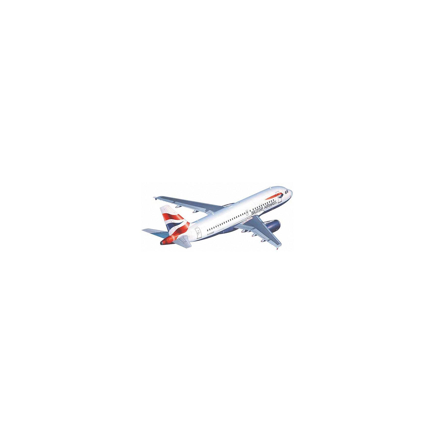Аэробус Airbus A 319Модели для склеивания<br>Airbus A320 — семейство узкофюзеляжных самолётов для авиалиний малой и средней протяжённости. Первый самолет был выпущен в 1988 году. Сейчас в эксплуатации находятся 5327 машин.  Модификация A 319 отличается от своего предшественника более укороченным фюзеляжем.  Инженеры Airbus добились этого за за счёт уменьшения количества пассажирских кресел на два ряда <br>Масштаб: 1:144 <br>Количество деталей: 65 <br>Длина модели: 234 мм <br>Размах крыльев: 235 мм <br>Подойдет для детей старше 10-и лет <br>Клей, краски и кисточки приобретаются отдельно<br><br>Ширина мм: 351<br>Глубина мм: 212<br>Высота мм: 44<br>Вес г: 220<br>Возраст от месяцев: 168<br>Возраст до месяцев: 1164<br>Пол: Мужской<br>Возраст: Детский<br>SKU: 1442138