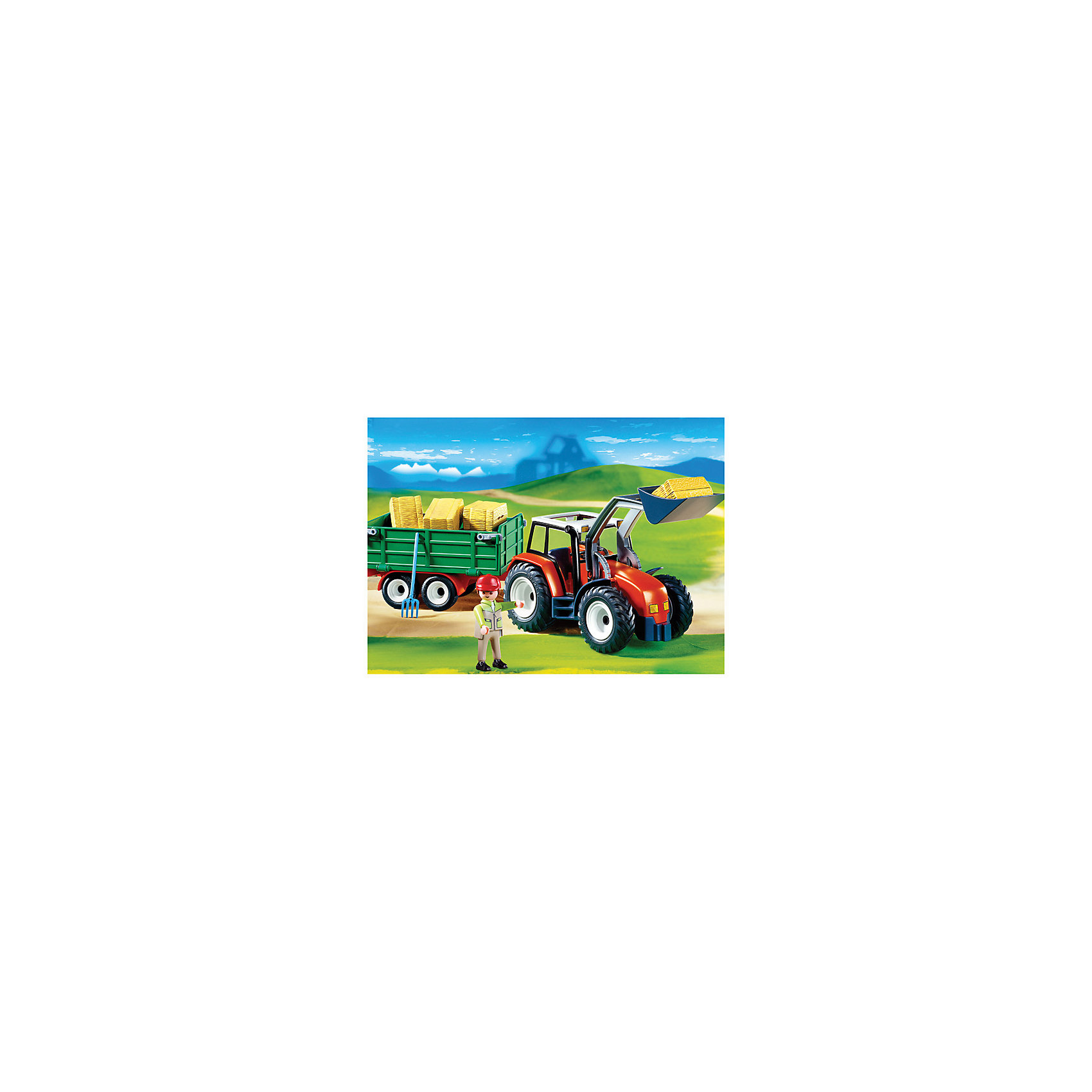 PLAYMOBIL® 4496 Трактор с прицепом от myToys