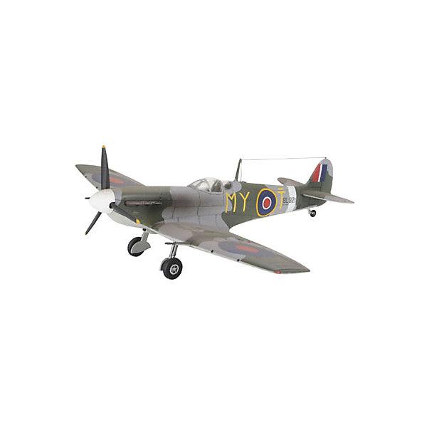 Набор Военный самолет Spitfire Mk V bСамолеты и вертолеты<br>Характеристики товара:<br><br>• возраст: от 8 лет;<br>• масштаб: 1:72;<br>• количество деталей: 39 шт;<br>• материал: пластик; <br>• клей и краски в комплект не входят;<br>• длина модели: 12,7 см;<br>• размах крыльев: 14,0 см;<br>• бренд, страна бренда: Revell (Ревел), Германия;<br>• страна-изготовитель: Польша.<br><br>Набор для сборки «Военный самолет Spitfire Mk V b» поможет вам и вашему ребенку придумать увлекательное занятие на долгое время и весело провести свой досуг. <br><br>В набор для сборки входит модель  одноименного самолета, состоящая из отдельных пластиковых деталей, которые должны быть склеены  в нужной последовательности, после чего готовая модель корабля окрашивается специальной краской. Необходимые для проведения процесса сборки краски, кисточка и клей, а также подробная инструкция  входят в комплект набора.<br><br>Процесс сборки развивает интеллектуальные и инструментальные способности, воображение и конструктивное мышление, а также прививает практические навыки работы со схемами и чертежами.<br><br>Набор для сборки «Военный самолет Spitfire Mk V b», 39 дет., Revell (Ревел) можно купить в нашем интернет-магазине.<br>Ширина мм: 270; Глубина мм: 33; Высота мм: 230; Вес г: 210; Возраст от месяцев: 72; Возраст до месяцев: 1164; Пол: Мужской; Возраст: Детский; SKU: 1458402;