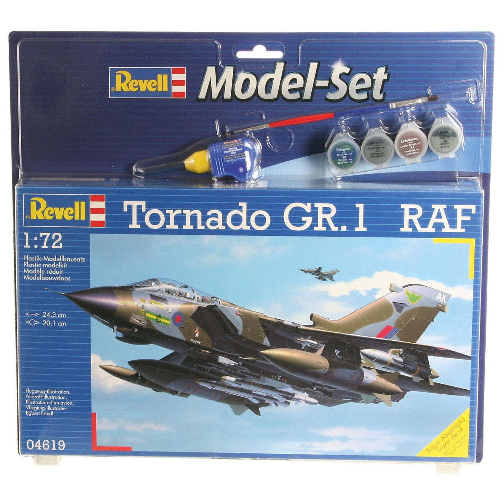 Revell Самолет Model Set Tornado GR, Revell revell bae harrier gr mk 7
