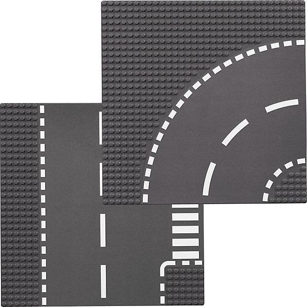 LEGO 7281 City: Т-соединения и изогнутые рельсыПластмассовые конструкторы<br>Набор LEGO City Поворот и Т-образный перекресток (LEGO 7281) станет прекрасным дополнением для любого города LEGO. <br><br>С его помощью можно увеличить и усовершенствовать трассу. Набор отлично развивает детскую фантазию, предлагая новые идеи для игр. <br><br>Детали: <br><br>- в комплекте Т-образный перекресток и поворот <br>- размеры каждой пластины: 25 х 25 см <br>- количество креплений на каждой пластине: 32 х 32 <br><br>Дополнительная информация: <br><br>- LEGO-артикул: 7281 <br>- Возраст: от 5 лет <br>- Количество деталей: 2 строительных пластины LEGO<br>- Серия: ЛЕГО Сити<br><br>LEGO 7281 City: Т-соединения и изогнутые рельсы можно купить в нашем магазине.<br>Ширина мм: 269; Глубина мм: 261; Высота мм: 10; Вес г: 195; Возраст от месяцев: 60; Возраст до месяцев: 144; Пол: Мужской; Возраст: Детский; SKU: 1462464;