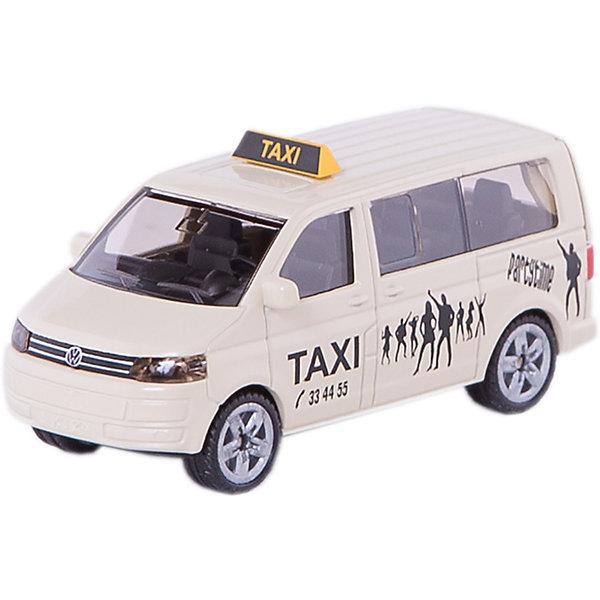 SIKU 1360 ТаксиМашинки<br>SIKU (СИКУ) 1360 Такси на базе Volkswages Sharan.<br><br>Корпус выполнен из металла, лобовое, заднее и боковые стёкла из прозрачной тонированной пластмассы, колёса выполнены из резины и вращаются, можно катать. Сзади есть сцепное устройство, можно использовать с прицепом SIKU (СИКУ).<br><br>Дополнительная информация:<br>-Материал: металл с элементами пластмассы<br>-Размер игрушки: 8,8 x 3,4 x 3,6 см<br><br>Малышу понравится великолепное такси, который можно катать и устроить путешествие по маленькому городу.<br><br>SIKU (СИКУ) 1360 Такси можно купить в нашем магазине.<br><br>Ширина мм: 96<br>Глубина мм: 78<br>Высота мм: 38<br>Вес г: 63<br>Возраст от месяцев: 36<br>Возраст до месяцев: 96<br>Пол: Мужской<br>Возраст: Детский<br>SKU: 1503789