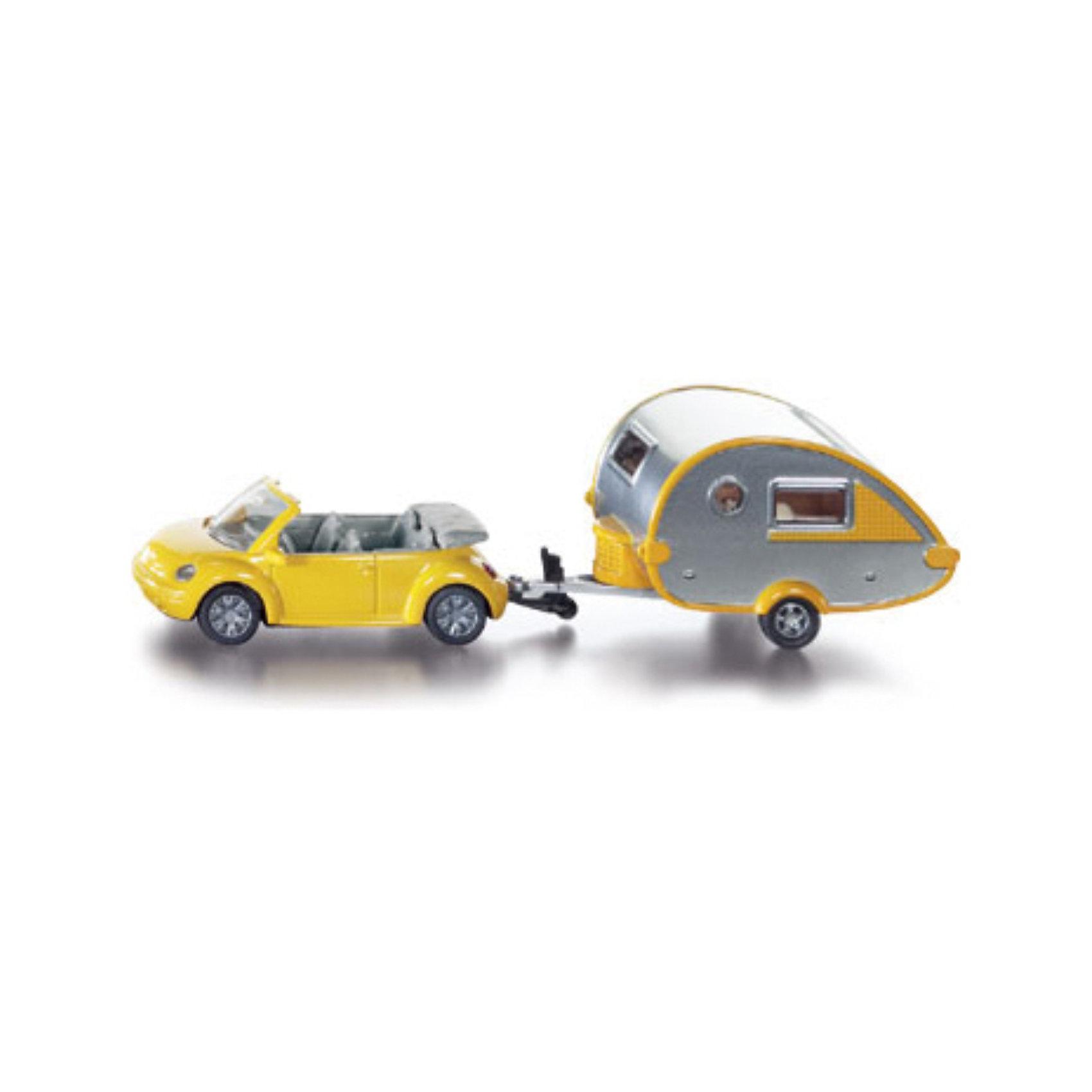 SIKU SIKU 1629 Автомобиль с жилым прицепом машинки siku автомобиль и прицеп с лодкой на воздушной подушке