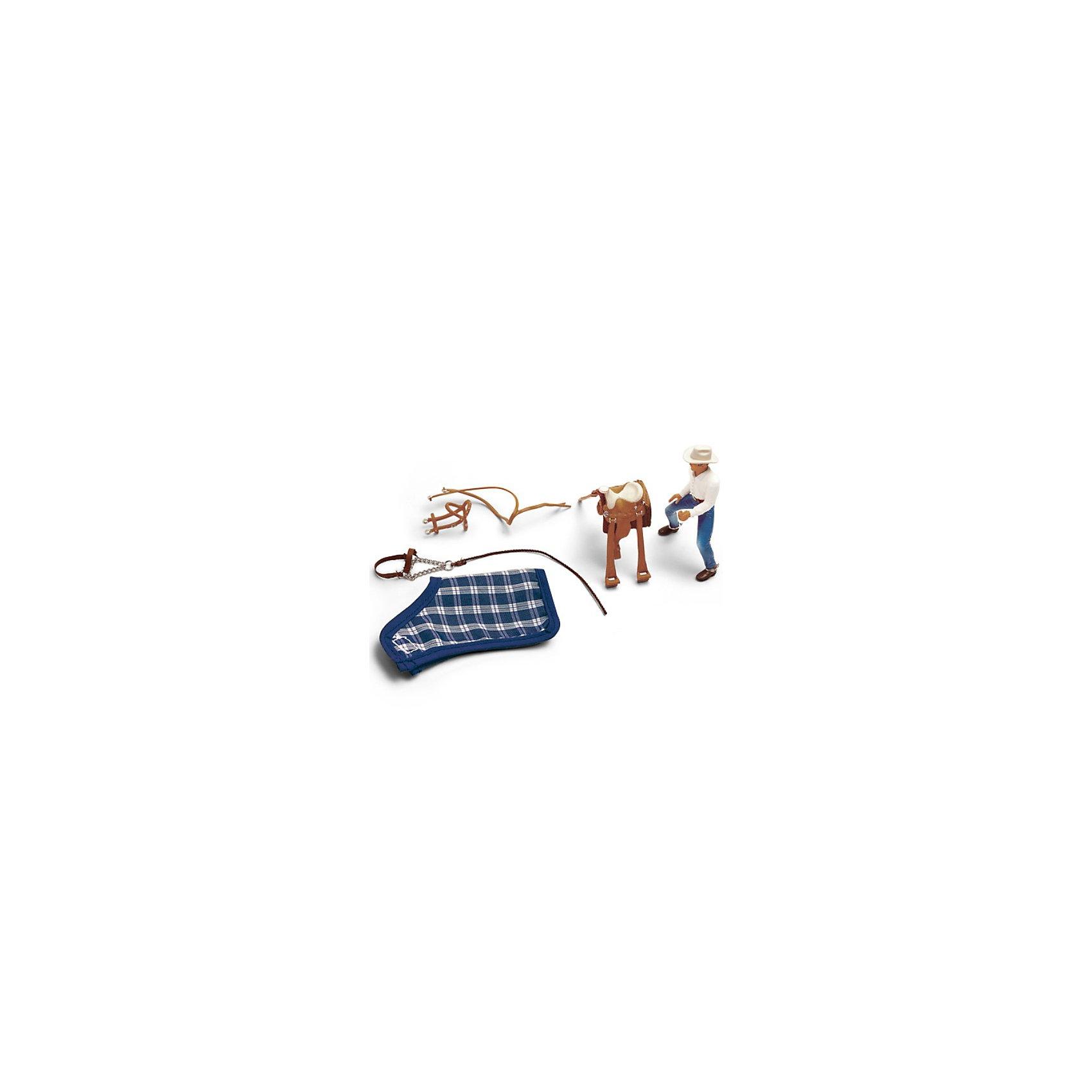 Schleich Schleich Ковбойский набор для верховой езды. Серия Ферма schleich хаска schleich