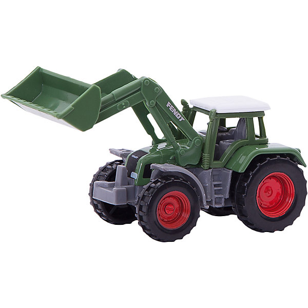 SIKU 1039 Трактор Fendt с ковшомМашинки<br>SIKU (СИКУ) 1039 Трактор Fendt с ковшом-это игрушечная модель для маленьких строителей.<br><br>Корпус выполнен из металла, кабина из пластика, ковш поднимается и опускается, колёса трактора вращаются и выполнены из пластика, можно катать. Сзади есть сцепное устройство, можно использовать с прицепом от SIKU (СИКУ).<br><br>Дополнительная информация:<br>-размер игрушки: 9,4 x 3,9 x 4,3 см<br>-Материал: металл с элементами пластмассы, резина<br><br>Благодаря высокому качеству исполнения и сохранению высокой детализации, эта игрушка будет интересна не только детям, но и взрослым коллекционерам. С коллекцией моделей рабочей техники от SIKU (СИКУ) вы сможете создать собственный уникальный автопарк, достойный сравниться с лучшими коллекциями автомоделей мира!<br><br>SIKU (СИКУ) 1039 Трактор Fendt с ковшом можно купить в нашем магазине.<br><br>Ширина мм: 98<br>Глубина мм: 88<br>Высота мм: 43<br>Вес г: 48<br>Возраст от месяцев: 36<br>Возраст до месяцев: 96<br>Пол: Мужской<br>Возраст: Детский<br>SKU: 1519988