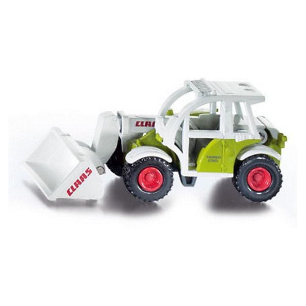 SIKU 1074 Погрузчик Claas TargoМашинки<br>SIKU (СИКУ) 1074 Погрузчик Claas Targo для маленьких строителей.<br><br>Корпус выполнен из металла, кабина из пластика, ковш поднимается и опускается, колёса вращаются и выполнены из резины, можно катать. <br><br>Дополнительная информация:<br>-Масштаб: 1:32<br>-Материал: металл, пластмасса<br>-Размер игрушки: 8,9 x 3,6 x 4,1 см<br><br>Игрушечная модель погрузчика отлично дополнит коллекцию миниатюр.<br><br>SIKU (СИКУ) 1074 Погрузчик Claas Targo можно купить в нашем магазине.<br>Ширина мм: 95; Глубина мм: 76; Высота мм: 38; Вес г: 69; Возраст от месяцев: 36; Возраст до месяцев: 96; Пол: Мужской; Возраст: Детский; SKU: 1519998;