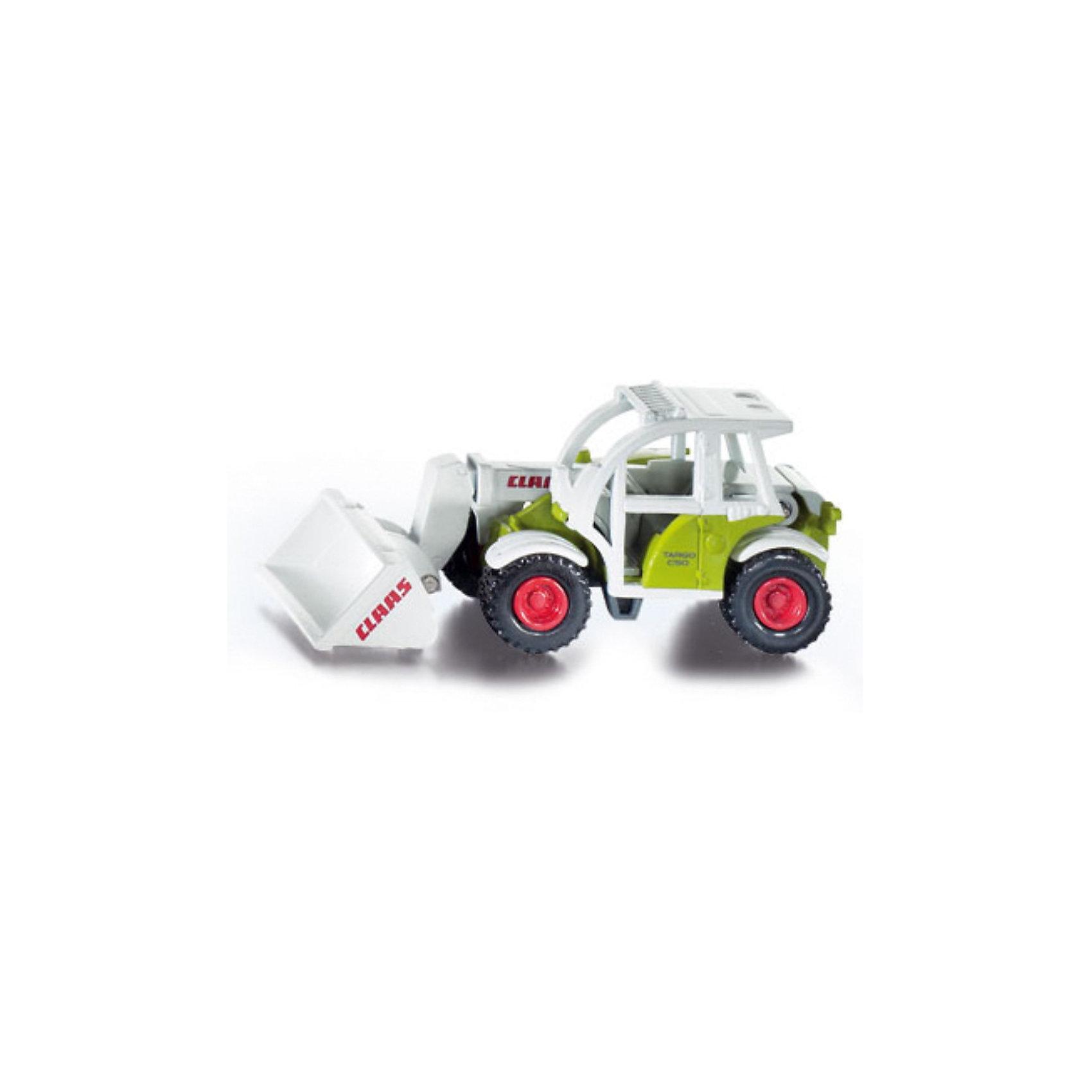 SIKU SIKU 1074 Погрузчик Claas Targo siku трактор claas с прицепом oehler