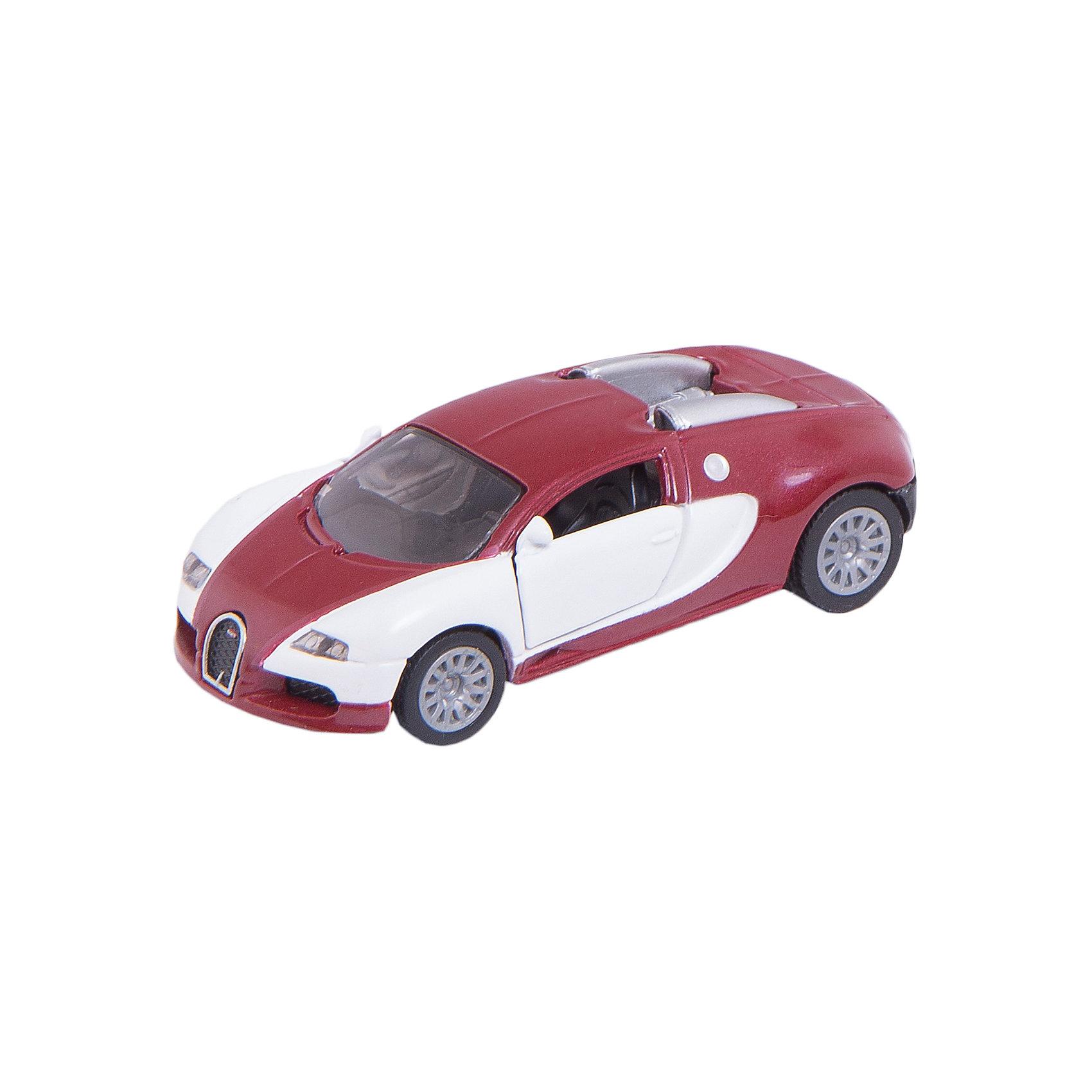 SIKU 1305 Бугатти EB 16.4 ВейронМашинки<br>Игрушечная модель Bugatti EB 16.4 Veyron (Бугатти Вейрон)из серии Siku Super. 1001 лошадиная сила;в карманном формате. Теперь каждый может позволить себе этот великолепный спортивный автомобиль в виде модели SIKU. Красивая двухцветная модель притягивает взгляд; однако она может похвастаться не только изысканными цветами, но и мощными широкопрофильными шинами на реалистичных дисках, детализированным двигателем и открывающимися дверями.Игрушечные модели SIKU уже более 50 лет отличаются высоким качеством и безопасностью. Они имеют сертификаты T?V и GS, изготавливаются в соответствии с актуальными предписаниями по безопасности и отмечены знаком SPIEL GUT.<br>      <br> Дополнительная информация:<br>   <br>- Размеры машинки:  Д/Ш/В: 82x37x22 мм<br>- Машинку можно катать      <br>    <br>    +++Примечание+++Фирма SIKU оставляет за собой право на изменение цвета и технических характеристик моделей. При демонстрации новинок в ряде случаев используются оригинальные фотографии и прототипы. Поставляемая модель может отличаться от представленной на фотографии.<br>    <br>Машинку SIKU 1305 Бугатти EB 16.4 Вейрон можно купить в нашем магазине.<br><br>Ширина мм: 96<br>Глубина мм: 78<br>Высота мм: 40<br>Вес г: 60<br>Возраст от месяцев: 36<br>Возраст до месяцев: 96<br>Пол: Мужской<br>Возраст: Детский<br>SKU: 1520004