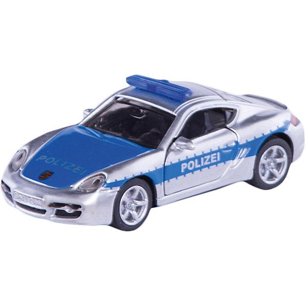 SIKU 1416 Шоссейная патрульная машинаМашинки<br>SIKU (СИКУ) 1416 Шоссейная патрульная машина на базе автомобиля Porsche из арсенала полиции Германии, чтобы патрулировать автобаны.<br><br>Корпус выполнен из металла, передние двери открываются, лобовое, заднее и боковые стёкла из прозрачной пластмассы, колёса выполнены из резины и вращаются, можно катать.<br><br>Дополнительная информация:<br>-Материал: металл с элементами пластмассы<br>-Размер игрушки: 8,0 x 3,3 x 2,9<br><br>Быстрая полицейская машина понравится вашему ребенку и разнообразит игры.<br><br>SIKU (СИКУ) 1416 Шоссейную патрульную машина можно купить в нашем магазине.<br>Ширина мм: 97; Глубина мм: 81; Высота мм: 38; Вес г: 50; Возраст от месяцев: 36; Возраст до месяцев: 96; Пол: Мужской; Возраст: Детский; SKU: 1520014;