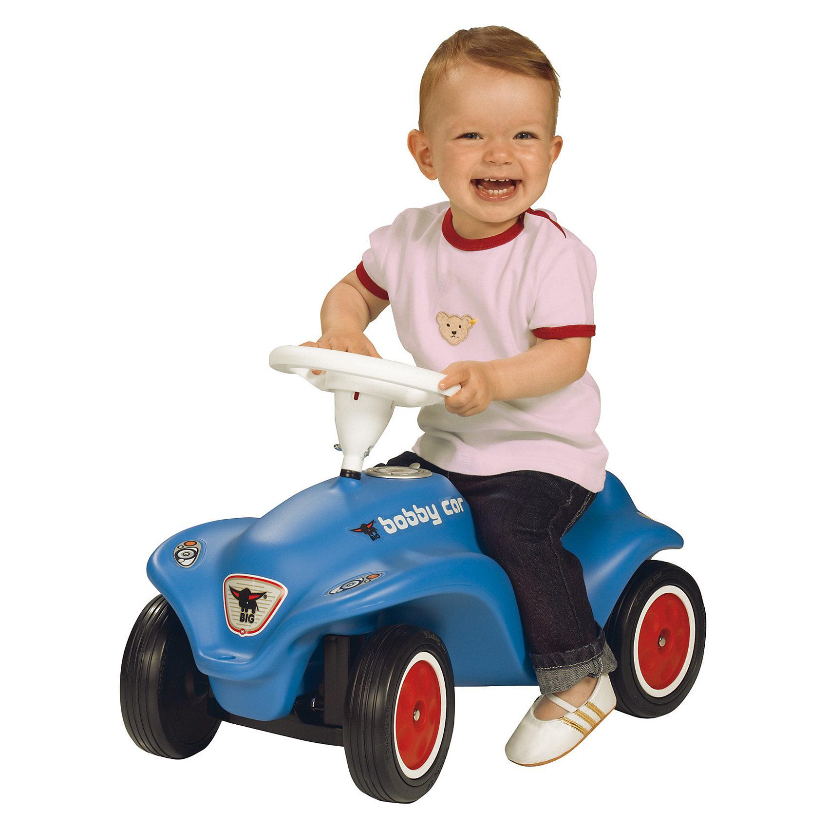"""Машинка-каталка Big """"New Bobby Car"""", синяя от myToys"""