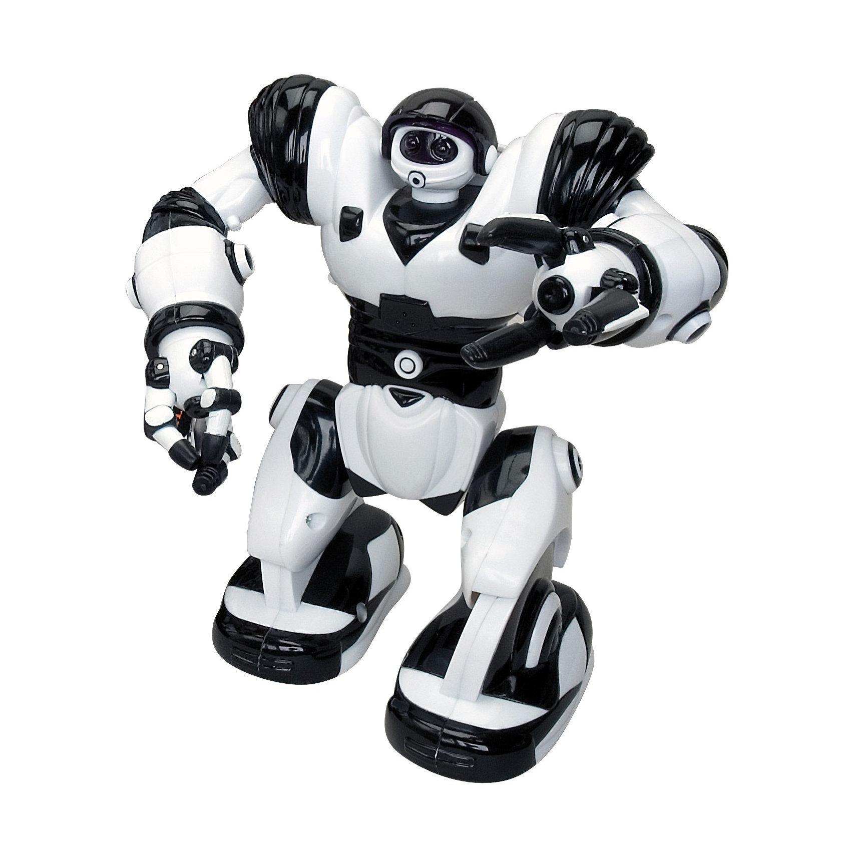 Мини Робот 8085,  WowWeeРоботы<br>Этот мини-робот от WowWee очень прост в управлении, так что с ним справится даже маленький ребенок. При включении глаза робота загораются, а сам он начинает весело и бодро шагать вперед. Руки, пальцы  и голова робота подвижны.<br><br>Дополнительная информация:<br><br>- Материал: пластик, металл.<br>- Высота: 18 см.<br>- Может ходить.<br>- Голова, руки, пальцы подвижные. <br>- Элемент питания: для робота - 2 батарейки ААА (не входят в комплект).<br>- Звуковые эффекты, световые эффекты.<br>- Комплектация: робот, инструкция.<br><br>Мини Робот 8085,  WowWee можно купить в нашем магазине.<br><br>Ширина мм: 215<br>Глубина мм: 179<br>Высота мм: 106<br>Вес г: 404<br>Возраст от месяцев: 48<br>Возраст до месяцев: 96<br>Пол: Мужской<br>Возраст: Детский<br>SKU: 1525809