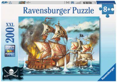Пазл XXL Пираты Ravensburger, 200 деталей