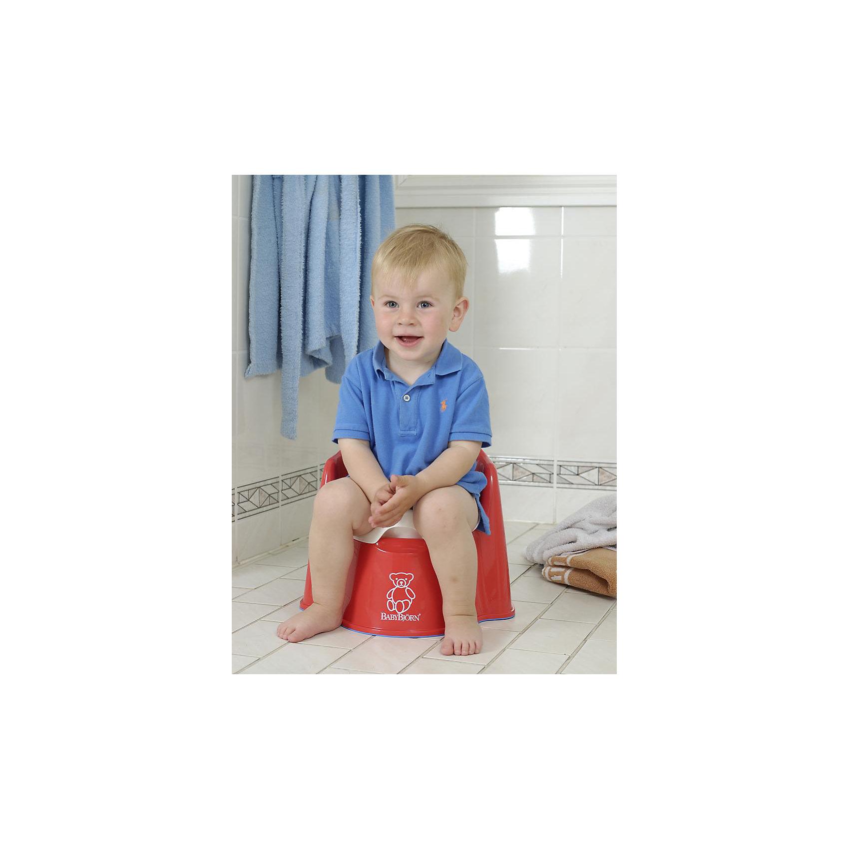 Кресло-горшок BabyBjorn, красный