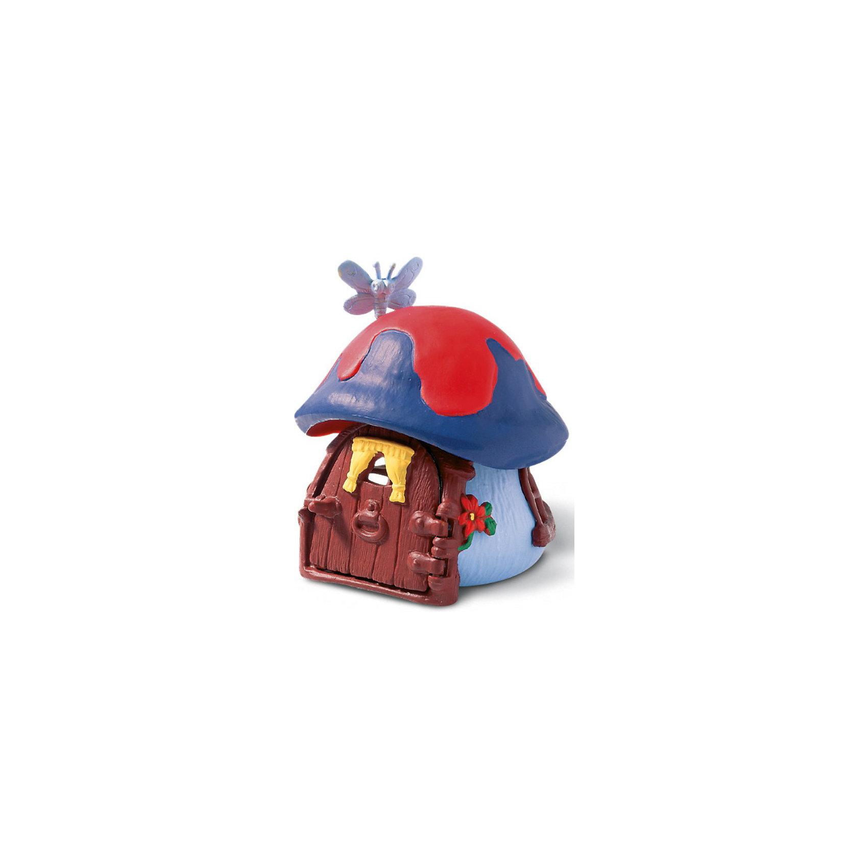 Schleich Маленький синий домик СмурфикаSchleich Маленький синий домик Смурфика<br><br>Характеристики:<br><br>• Размер: 9,2 x 9,9 x 11,5 см<br>• Цвет: синий<br>• Материал: пластмасса (ПВХ)<br>• Возраст: от 3 до 8 лет<br><br>Маленький домик Смурфика – это отличное дополнение в коллекцию. Качественный домик сделан из безопасных и надежных материалов. Красочный и яркий домик с открывающейся дверцей и небольшим окошком, расписан вручную. Краски не тускнеют и не осыпаются. Дети будут в восторге, играя с таким домиком.<br> <br>Schleich Маленький синий домик Смурфика можно купить в нашем интернет-магазине.<br><br>Ширина мм: 125<br>Глубина мм: 126<br>Высота мм: 124<br>Вес г: 213<br>Возраст от месяцев: 36<br>Возраст до месяцев: 96<br>Пол: Унисекс<br>Возраст: Детский<br>SKU: 1600017