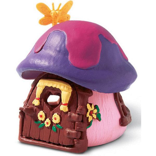 Дом Смурфетты, SchleichИгрушки<br>Дом Смурфетты, Schleich<br><br>Характеристики:<br><br>• Размер: 9,2 x 9,9 x 11,5 см<br>• Цвет: фиолетовый, розовый<br>• Материал: пластмасса (ПВХ)<br>• Возраст: от 3 до 8 лет<br><br>Маленький домик Смурфетты – это отличное дополнение в коллекцию. Качественный дом сделан из безопасных и надежных материалов. Красочный и яркий домик с открывающейся дверцей и небольшим окошком, расписан вручную. Краски не тускнеют и не осыпаются. Дети будут в восторге, играя с таким домиком.<br> <br>Дом Смурфетты, Schleich можно купить в нашем интернет-магазине.<br>Ширина мм: 125; Глубина мм: 121; Высота мм: 122; Вес г: 219; Возраст от месяцев: 36; Возраст до месяцев: 96; Пол: Унисекс; Возраст: Детский; SKU: 1600018;