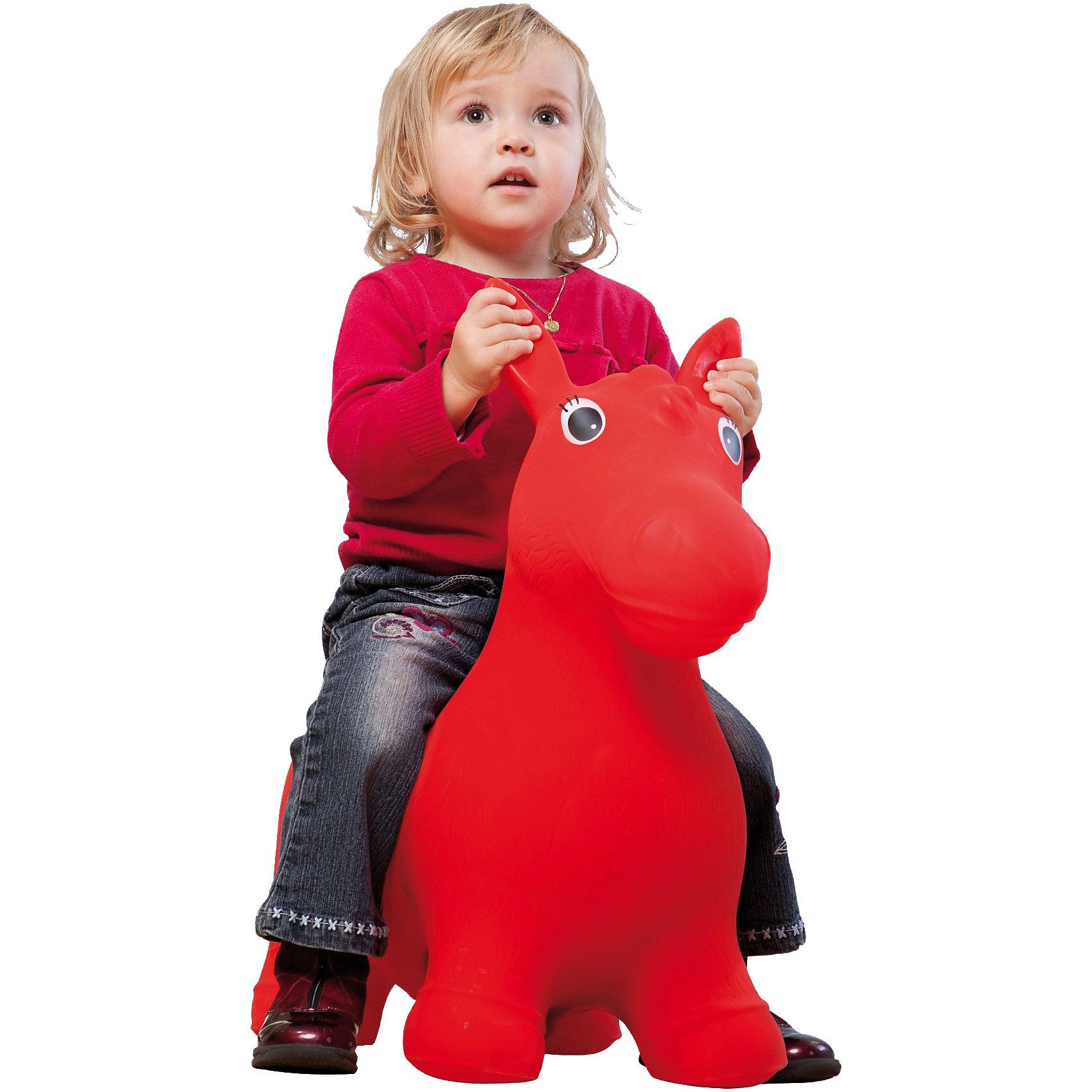 JOHN Попрыгун надувной Лошадка, цвета в ассортиментеНадувной попрыгун Лошадка- яркая игрушка для активного отдыха Вашего малыша. <br><br>Игрушка развивает ловкость и координацию движений. Занятия с гимнастическим мячом помогают формировать правильную осанку, укрепить мышцы спины, живота, рук, ног и других частей тела, развить вестибулярный аппарат. <br>Игрушка может надуваться обычным насосом по росту вашего ребенка.<br><br><br>Дополнительная информация:<br><br>- Игрушку можно надуть велосипедным или автомобильным насосом<br>- Максимальный допустимый вес эксплуатации: 25 кг<br>- Размер упаковки: 37х17,5х25 см<br>- Размер игрушки: 70х30х50 см;<br>- Ширина сидения - 22 см<br>- В комплекте: надувное животное Лошадка - 1 шт.<br>- Материал: ПВХ.<br>ВНИМАНИЕ! Данный товар представлен в ассортименте и возможны два варианта цветового исполнения данного товара (желтый либо красный). При заказе нескольких единиц данного товара, возможно получение одинаковых.<br><br>JOHN Попрыгун надувной Лошадка, в ассортименте можно купить в нашем магазине.<br><br>Ширина мм: 385<br>Глубина мм: 251<br>Высота мм: 182<br>Вес г: 1555<br>Возраст от месяцев: 24<br>Возраст до месяцев: 84<br>Пол: Унисекс<br>Возраст: Детский<br>SKU: 1600724