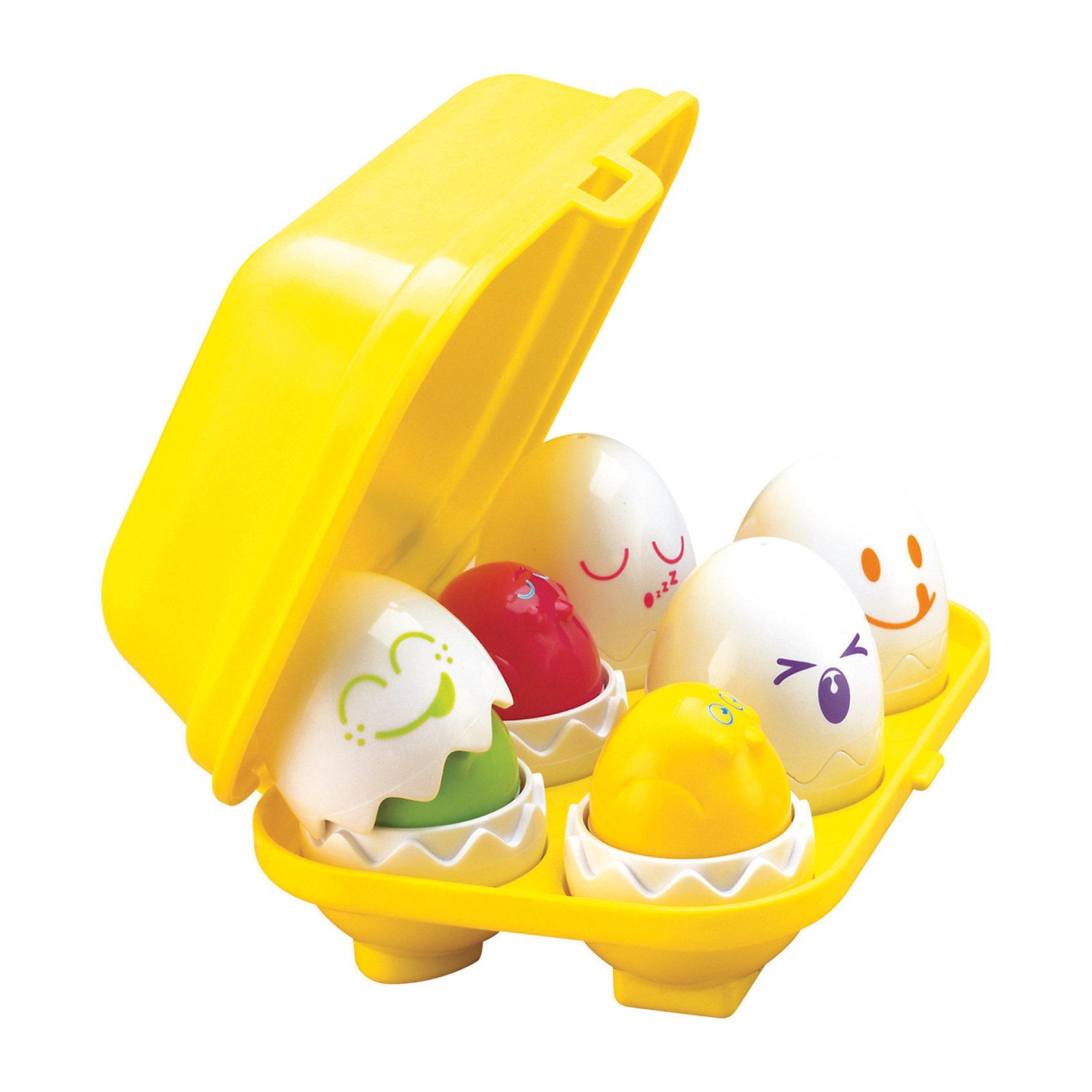"""Игрушка Найди яйцо, TOMYСортеры<br>Никогда ещё Ваш малыш не видел ничего более интересного – великолепная игра-сортер """"Найди яйцо"""" бренда TOMY (Томи) не только развлечет Вашего ребёнка, но и также будет способствовать развитию у него наиважнейших навыков.<br> <br>В небольшом чемоданчике находится 6 различных забавных яиц. В каждом из них находятся разноцветные птенчики. Малышу стоит лишь снять скорлупу с яиц, чтобы найти птенцов. Если он захочет погладить этих забавных созданий, нажав на голову птенца он """"нырнёт"""" обратно в скорлупу с забавным звуком.<br><br>Все яйца можно без труда достать из контейнера – но поставить их обратно будет не так-то просто, так как каждое яйцо обладает специальной формой (сердце, треугольник, квадратик, кружок, крестик и звёздочка) для крепления к чемоданчику.<br><br>Находя подходящее место для яичек, у малыша будет непосредственно развиваться логика. Он начнёт лучше различать формы и геометрические фигуры. Данная игрушка также способствует улучшению концентрации и памяти ребёнка и развитию причинно-следственной связи.<br><br>Отлично подходит как для мальчиков, так и для девочек.<br>Ну, разве это не сказка? Спешите порадовать Вашего ребёнка!<br><br>В набор входят:<br>- 6 яиц с различными смешными мордашками<br>- разноцветные птенцы, находящиеся в яйцах<br>- контейнер для яичек<br><br>Дополнительная информация:<br>Материал – высококачественный пластик<br>Вес – 350 гр<br>Размер – 21 х 17 х 8 см<br><br>Игрушку Найди яйцо, TOMY (Томи) можно купить в нашем магазине.<br><br>Ширина мм: 215<br>Глубина мм: 147<br>Высота мм: 83<br>Вес г: 377<br>Возраст от месяцев: 12<br>Возраст до месяцев: 48<br>Пол: Унисекс<br>Возраст: Детский<br>SKU: 1602928"""