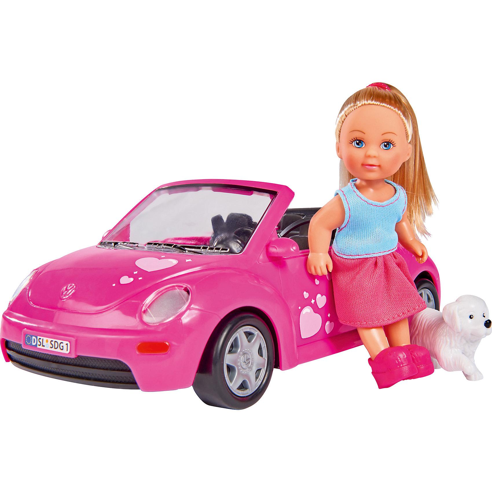 simba кукла еви с подружкой Simba Кукла Еви и машинка, Simba