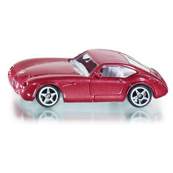 SIKU 0879 Wiesmann GTМашинки<br>Игрушечная модель от SIKU (СИКУ) 0879 Wiesmann GT. <br><br>Корпус автомобиля выполнен из металла, лобовое, заднее и боковые стёкла из прозрачной пластмассы, колёса выполнены из пластика и вращаются, можно катать. <br><br>Дополнительная информация:<br>-Материал: металл с элементами пластмассы<br>-Размер игрушки: 7,7 x 3,3 x 2,1 см<br><br>Игрушечная модель автомобиля обязательно понравится вашему ребенку и дополнит его коллекцию. Игра с моделями транспортных средств от SIKU (СИКУ) развивает воображение, мышление, память, мелкую моторику рук и координацию движений детей.<br><br>SIKU (СИКУ) 0879 Wiesmann GT можно купить в нашем магазине.<br>Ширина мм: 94; Глубина мм: 75; Высота мм: 36; Вес г: 54; Возраст от месяцев: 36; Возраст до месяцев: 96; Пол: Мужской; Возраст: Детский; SKU: 1636684;
