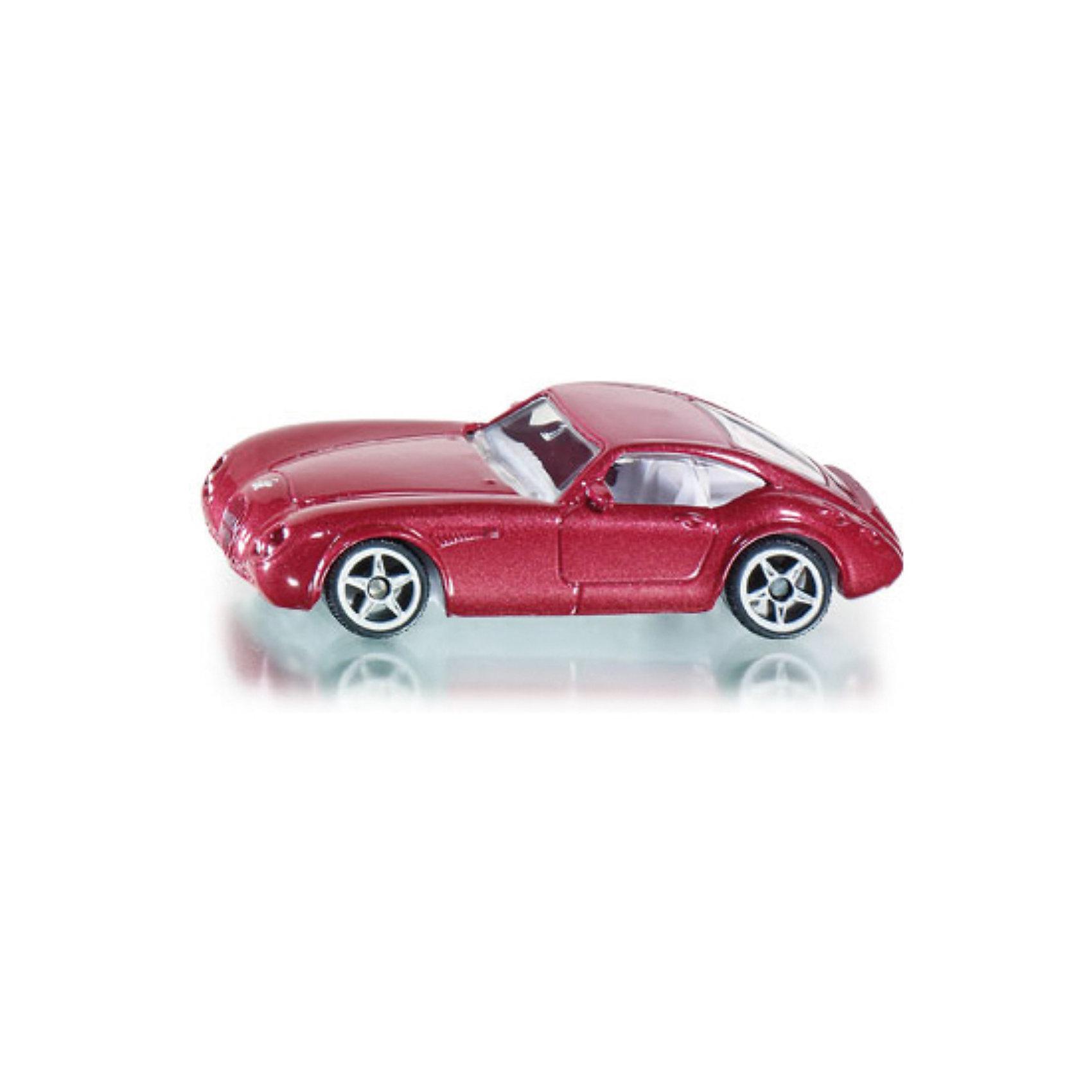 SIKU 0879 Wiesmann GTМашинки<br>Игрушечная модель от SIKU (СИКУ) 0879 Wiesmann GT. <br><br>Корпус автомобиля выполнен из металла, лобовое, заднее и боковые стёкла из прозрачной пластмассы, колёса выполнены из пластика и вращаются, можно катать. <br><br>Дополнительная информация:<br>-Материал: металл с элементами пластмассы<br>-Размер игрушки: 7,7 x 3,3 x 2,1 см<br><br>Игрушечная модель автомобиля обязательно понравится вашему ребенку и дополнит его коллекцию. Игра с моделями транспортных средств от SIKU (СИКУ) развивает воображение, мышление, память, мелкую моторику рук и координацию движений детей.<br><br>SIKU (СИКУ) 0879 Wiesmann GT можно купить в нашем магазине.<br><br>Ширина мм: 94<br>Глубина мм: 75<br>Высота мм: 36<br>Вес г: 54<br>Возраст от месяцев: 36<br>Возраст до месяцев: 96<br>Пол: Мужской<br>Возраст: Детский<br>SKU: 1636684