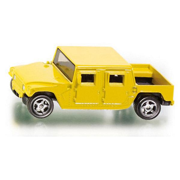 SIKU 0880 CanyonМашинки<br>SIKU (СИКУ) 0880 Canyon<br><br>Корпус выполнен из металла, лобовое, заднее и боковые стёкла из прозрачной тонированной пластмассы, колёса выполнены из пластика и вращаются, можно катать.<br><br>Дополнительная информация:<br>-Материал: металл с элементами пластмассы<br>-Размер игрушки: 8,6 x 4,3 x 3,0<br>-Масштаб 1:50<br>-Разные цвета (заранее выбрать невозможно)<br><br>Высокая детализация и проработка мелких деталей выгодно отличает модели SIKU (СИКУ) от аналогов, и делает каждую модель достойным дополнением коллекции, как ребенка, так и увлеченного коллекционера-взрослого. <br><br>SIKU (СИКУ) 0880 Canyon можно купить в нашем магазине.<br><br>Ширина мм: 97<br>Глубина мм: 78<br>Высота мм: 41<br>Вес г: 65<br>Возраст от месяцев: 36<br>Возраст до месяцев: 96<br>Пол: Мужской<br>Возраст: Детский<br>SKU: 1636685