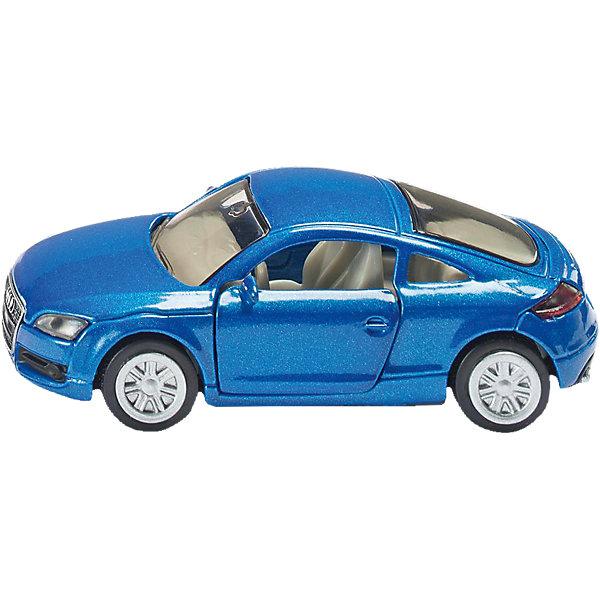 SIKU 1428 Audi TTМашинки<br>Игрушечная модель SIKU (СИКУ) 1428 Audi TT-это спортивный автомобиль, который обязательно понравится вашему ребенку.<br><br>Ее корпус выполнен из металла, лобовое и заднее стёкла из прозрачной тонированной пластмассы, передние двери открываются, колёса выполнены из резины и вращаются.<br><br>Дополнительная информация:<br>-Материал: металл с элементами пластмассы<br>-Размер игрушки: 7,6 x 3,6 x 2,5 см<br><br>Модель изготовлена с высокой точностью. Можно играть и любоваться.<br><br>SIKU (СИКУ) 1428 Audi TT можно купить в нашем магазине.<br><br>Ширина мм: 100<br>Глубина мм: 88<br>Высота мм: 43<br>Вес г: 50<br>Возраст от месяцев: 36<br>Возраст до месяцев: 96<br>Пол: Мужской<br>Возраст: Детский<br>SKU: 1636691
