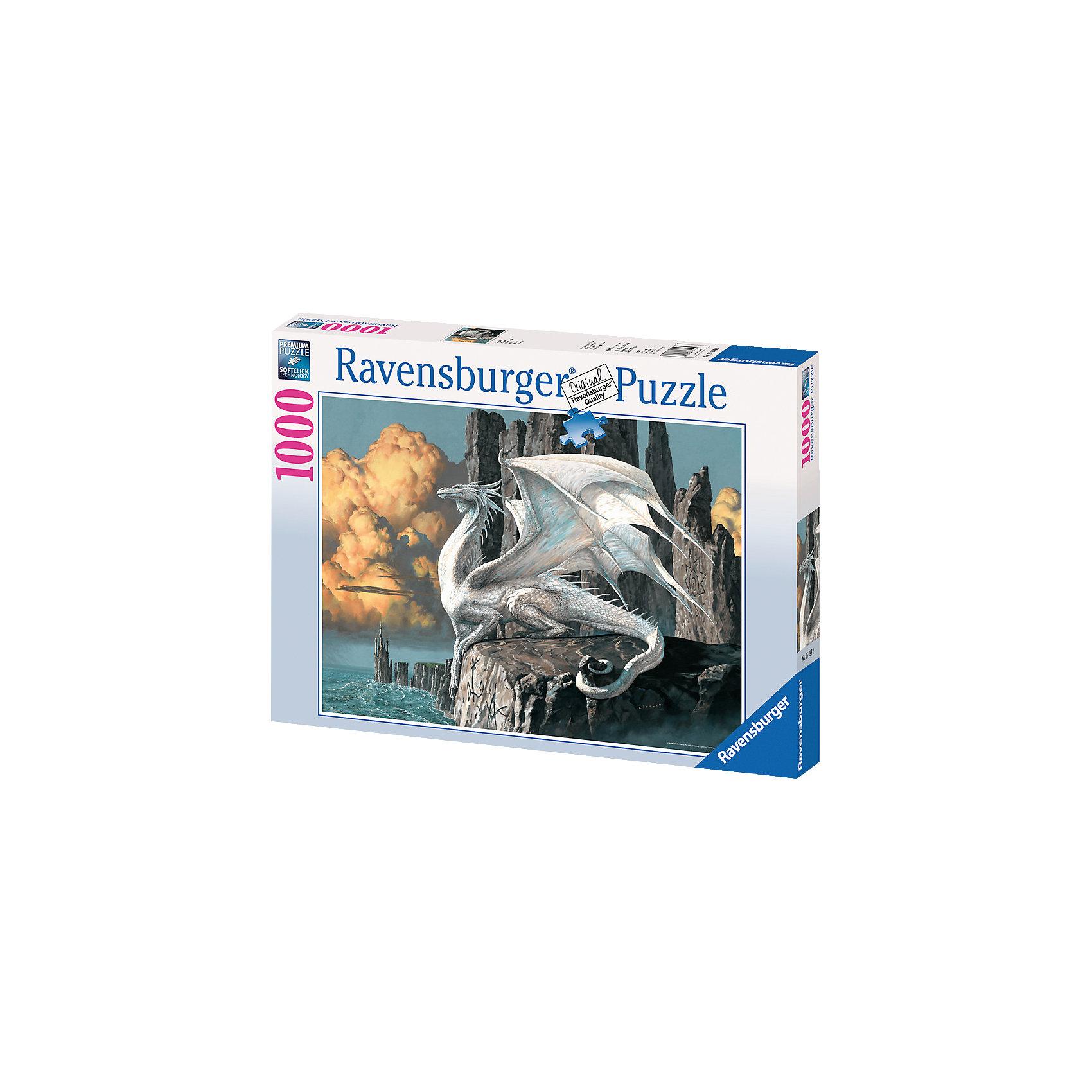 Подробнее о Ravensburger Пазл «Белый дракон», 1000 деталей, Ravensburger романова г свой дракон