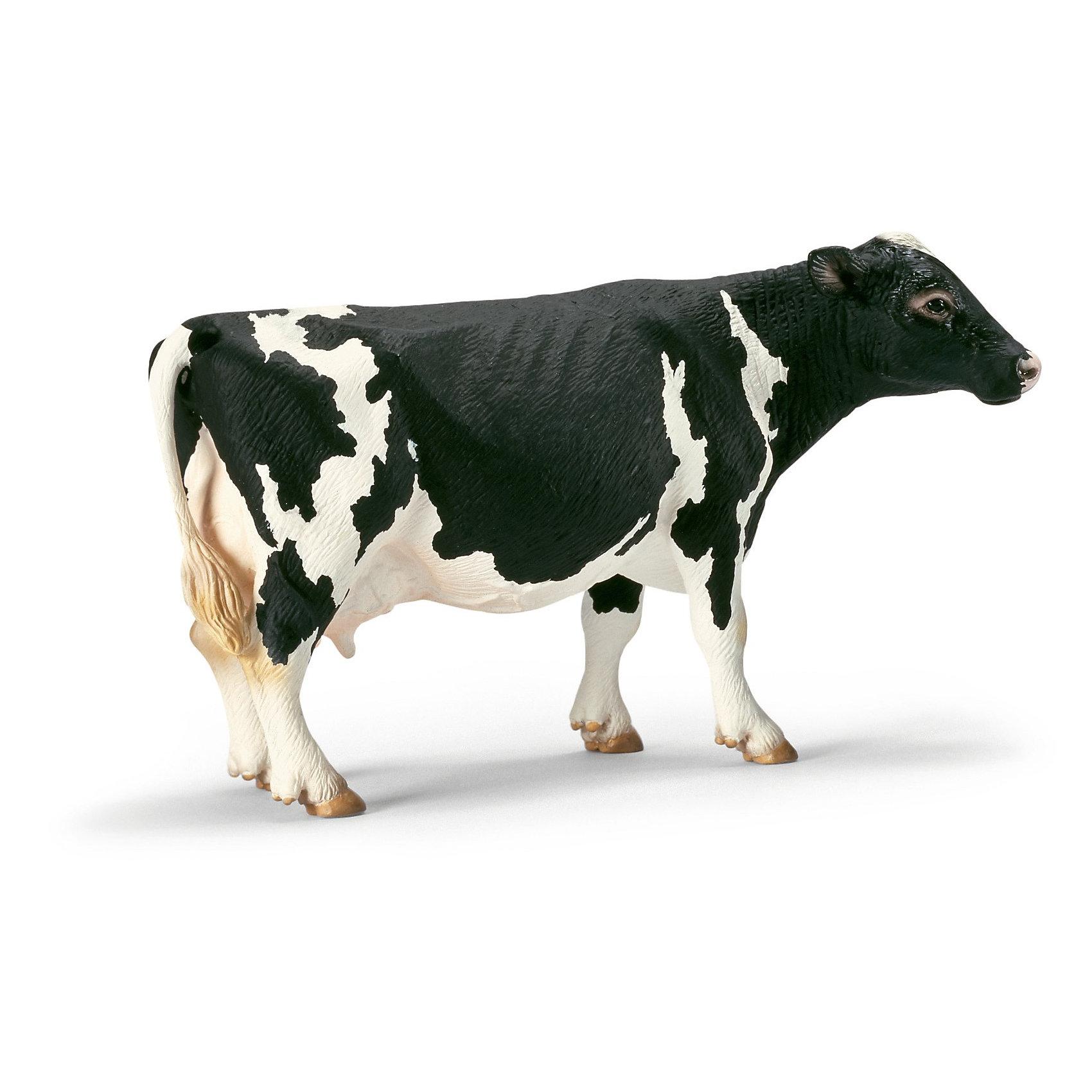 Schleich Schleich Корова голштинской породы. Серия Ферма schleich фигурка корова голштинской породы 13797