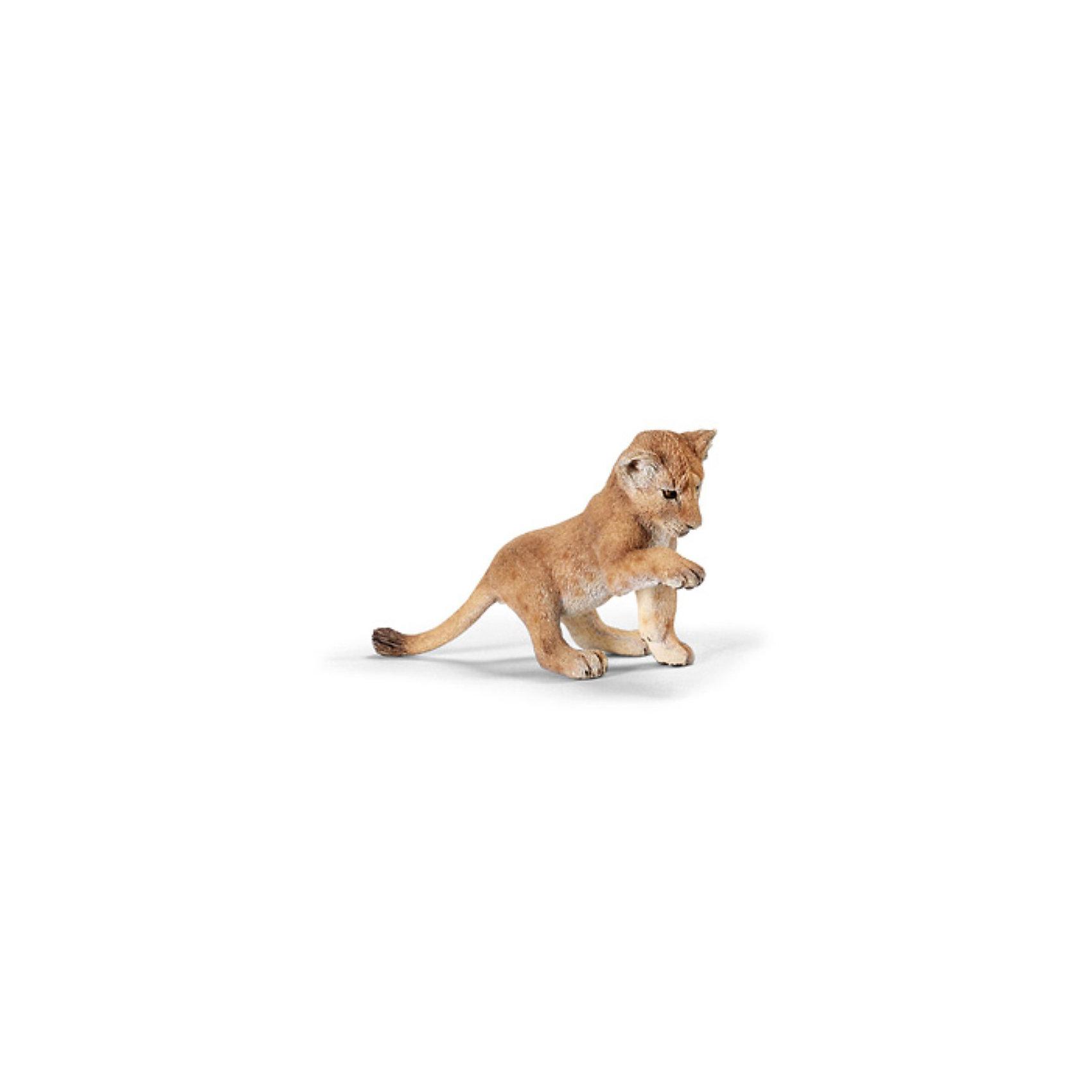 Schleich Львенок, играющий. Серия Дикие животные