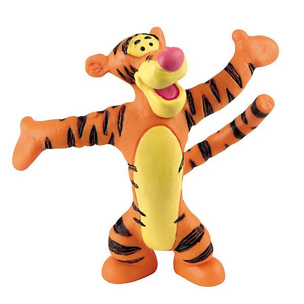 Фигурка Тигруля,  Винни ПухКоллекционные и игровые фигурки<br>Фигурка Тигрули из мультфильма студии Уолта Диснея «Винни-Пух и все, все, все». Замечательный Тигруля очень веселый и находчивый. Он старается никогда не унывать и в любой ситуации видит что-то хорошее. Тигруля очень любит сладкий и душистый Солодовый Экстракт. Кенгуренок Ру - лучший друг Тигрули, они проводят много времени вместе, играя и помогая друг другу. Фигурка персонажа выражает открытую натуру и добрый нрав нашего героя, любящего свой лес и всех, всех, всех в нем.<br>Игрушка выполнена из высококачественных, нетоксичных материалов и безопасна для детей. <br><br>Дополнительная информация:<br><br>Размер:6,5 см <br>Материал: термопластичный каучук высокого качества. <br> <br>Фигурку Тигруля,  Disney можно купить в нашем магазине.<br><br>Ширина мм: 80<br>Глубина мм: 20<br>Высота мм: 80<br>Вес г: 18<br>Возраст от месяцев: 36<br>Возраст до месяцев: 1164<br>Пол: Мужской<br>Возраст: Детский<br>SKU: 1772221