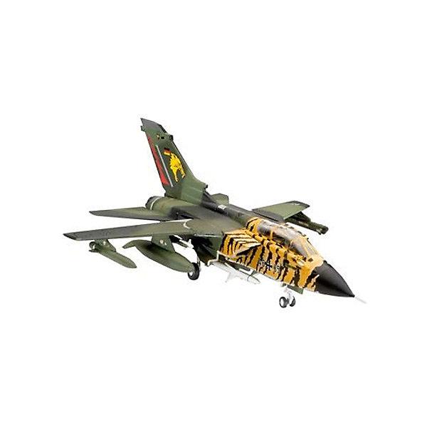 Набор Самолет Tornado ECR (1:144)Самолёты и вертолёты<br>Характеристики товара:<br><br>• возраст: от 10 лет;<br>• масштаб: 1:144;<br>• количество деталей: 63 шт;<br>• материал: пластик; <br>• клей и краски в комплект не входят;<br>• длина модели: 11,8 см;<br>• размах крыльев: 8,5 см;<br>• бренд, страна бренда: Revell (Ревел), Германия;<br>• страна-изготовитель: Польша.<br><br>Набор для сборки «Самолет Tornado ECR» поможет вам и вашему ребенку придумать увлекательное занятие на долгое время и весело провести свой досуг. <br><br>Данная сборная модель военного самолета состоит из 63 деталей и относится к третьему уровню сложности сборки из пяти существующих. В комплект набора также включены необходимые для осуществления сборки клей, кисточка и краски 3-ех цветов. В упаковку вложена подробная инструкция.<br><br>Процесс сборки развивает интеллектуальные и инструментальные способности, воображение и конструктивное мышление, а также прививает практические навыки работы со схемами и чертежами.<br><br>Набор для сборки «Самолет Tornado ECR», 63 дет., Revell (Ревел) можно купить в нашем интернет-магазине.<br>Ширина мм: 270; Глубина мм: 230; Высота мм: 33; Вес г: 240; Возраст от месяцев: -2147483648; Возраст до месяцев: 2147483647; Пол: Унисекс; Возраст: Детский; SKU: 1772638;