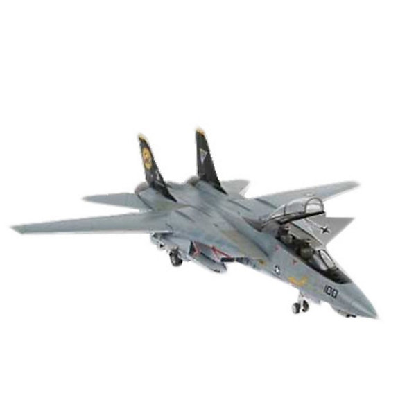 Набор Самолет F-14D Super Tomcat (1:144)Военный транспорт<br>Характеристики товара:<br><br>• возраст: от 10 лет;<br>• масштаб: 1:144;<br>• количество деталей: 57 шт;<br>• материал: пластик;<br>• клей и краски в комплект не входят;<br>• длина модели: 13,4 см;<br>• размах крыльев: 13 см;<br>• бренд, страна бренда: Revell (Ревел), Германия;<br>• страна-изготовитель: Польша.<br><br>Набор для сборки «Самолет F-14D Super Tomcat» поможет вам и вашему ребенку придумать увлекательное занятие на долгое время и весело провести свой досуг. <br><br>Модель отличается изменяемой действующей геометрией крыла, наличием внутренней расшивки и высоко детализированной поверхностью. Шасси самолета могут быть установлено в двух положениях. <br><br>В комплект вооружения входит 2 управляемые ракеты Sidewinder, а также 6 управляемых ракет Phoenix. Данная сборная модель военного самолета состоит из 57 деталей.  В комплект набора также включены необходимые для осуществления сборки клей, кисточка и краски 3-ех цветов. В упаковку вложена подробная инструкция.<br><br>Процесс сборки развивает интеллектуальные и инструментальные способности, воображение и конструктивное мышление, а также прививает практические навыки работы со схемами и чертежами.<br><br>Набор для сборки «Самолет F-14D Super Tomcat», 57 дет., Revell (Ревел) можно купить в нашем интернет-магазине.<br>Ширина мм: 270; Глубина мм: 230; Высота мм: 33; Вес г: 240; Возраст от месяцев: 84; Возраст до месяцев: 1188; Пол: Мужской; Возраст: Детский; SKU: 1772673;