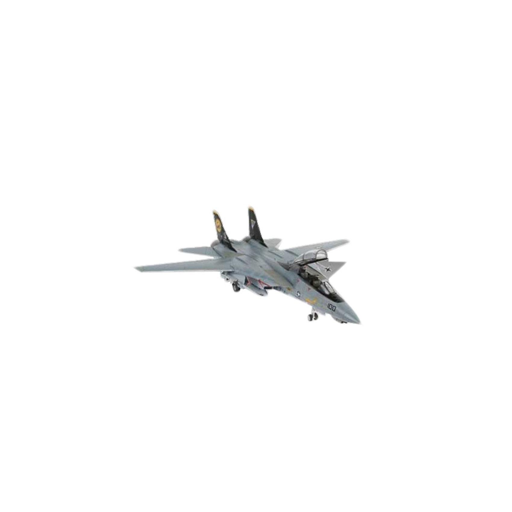 Набор Самолет F-14D Super Tomcat (1:144)Военный транспорт<br>Масштаб: 1:144; <br>Количество деталей: 57 шт.; <br>Длина модели: 134 мм.; <br>Размах крыльев: 130 мм; <br>Подойдет для детей старше 10-и лет. <br>Модель самолёта F-14D Super Tomcat от фирмы Revell является уменьшенной копией одноименного американского истребителя. Впервые произведен в 1990 году в США. Модель станет отличным украшением комнаты и дополнением Вашей коллекции. <br>Технические характеристики настоящего самолета:  <br>Мощность двигателей: 12247 kp; <br>Максимальная скорость: 2517 км/ч; <br>В  набор входят клей, краски и кисточка для полноценной сборки.<br><br>Ширина мм: 270<br>Глубина мм: 230<br>Высота мм: 33<br>Вес г: 240<br>Возраст от месяцев: 84<br>Возраст до месяцев: 1188<br>Пол: Мужской<br>Возраст: Детский<br>SKU: 1772673