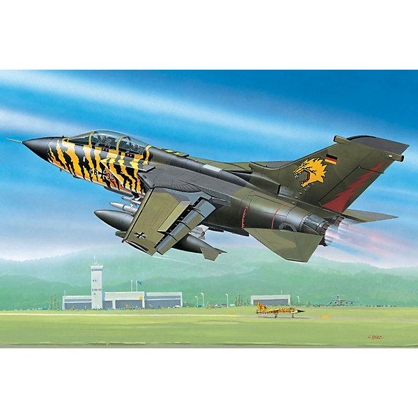 Истребитель Tornado ECR (1/144)Самолеты и вертолеты<br>Характеристики товара:<br><br>• возраст: от 10 лет;<br>• масштаб: 1:144;<br>• количество деталей: 63 шт;<br>• материал: пластик; <br>• клей и краски в комплект не входят;<br>• длина модели: 11,8 см;<br>• размах крыльев: 8,5 см;<br>• бренд, страна бренда: Revell (Ревел), Германия;<br>• страна-изготовитель: Польша.<br><br>Набор для сборки «Истребитель Tornado ECR » поможет вам и вашему ребенку придумать увлекательное занятие на долгое время и весело провести свой досуг. Модель отличается высокой степенью детализации поверхности. Шасси истребителя могут быть установлены в двух положениях. Модель оснащена проработанной деколью.<br><br>В набор входят 63 пластиковых детали, которые помогут воссоздать истребитель. Детали можно собрать и без помощи клея, на защелки, согласно инструкции. Готовый истребитель украсит стол или книжную полку ребенка. Краски и клей в комплект не входят.<br><br>Процесс сборки развивает интеллектуальные и инструментальные способности, воображение и конструктивное мышление, а также прививает практические навыки работы со схемами и чертежами.<br><br>Набор для сборки «Истребитель Tornado ECR », 63 дет., Revell (Ревел) можно купить в нашем интернет-магазине.<br><br>Ширина мм: 110<br>Глубина мм: 21<br>Высота мм: 132<br>Вес г: 36<br>Возраст от месяцев: 144<br>Возраст до месяцев: 1188<br>Пол: Мужской<br>Возраст: Детский<br>SKU: 1772775