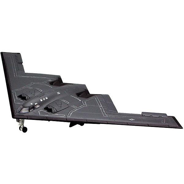 Бомбардировщик В-2 Stealth, 1:144, (3)Самолеты и вертолеты<br>Характеристики товара:<br><br>• возраст: от 10 лет;<br>• масштаб: 1:144;<br>• количество деталей: 32 шт;<br>• материал: пластик; <br>• клей и краски в комплект не входят;<br>• длина модели: 14,6 см;<br>• размах крыльев: 16,4 см;<br>• бренд, страна бренда: Revell (Ревел), Германия;<br>• страна-изготовитель: Польша.<br><br>Набор для сборки «Бомбардировщик В-2 Stealth» поможет вам и вашему ребенку придумать увлекательное занятие на долгое время и весело провести свой досуг. <br><br>Бомбардировщик B-2 был разработан как преемник устаревшего B-52 и как альтернатива B-1-бомбардировщику. Специальное абсорбирующее покрытие делает бомбардировщик Стелс, невидимым для радара. Первый полет случился 1989 году. Самоле может развивать скорость до 764 км/ч при высоте более 15 000 метров.<br><br>В набор входят 32 пластиковые детали, которые помогут воссоздать истребитель. Детали рекомендуется можно собрать и без помощи клея, на защелки, согласно инструкции. Готовый истребитель украсит стол или книжную полку ребенка. Краски и клей в комплект не входят.<br><br>Процесс сборки развивает интеллектуальные и инструментальные способности, воображение и конструктивное мышление, а также прививает практические навыки работы со схемами и чертежами. <br><br>Набор для сборки «Бомбардировщик В-2 Stealth», 32 дет., Revell (Ревел) можно купить в нашем интернет-магазине.<br><br>Ширина мм: 351<br>Глубина мм: 212<br>Высота мм: 44<br>Вес г: 220<br>Возраст от месяцев: -2147483648<br>Возраст до месяцев: 2147483647<br>Пол: Унисекс<br>Возраст: Детский<br>SKU: 1772800