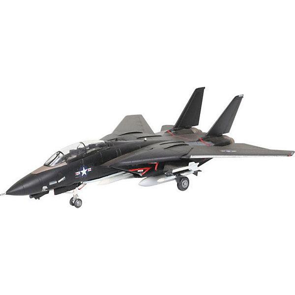 Набор Самолет F-14A Tomcat Black BunnyСамолеты и вертолеты<br>Характеристики товара:<br><br>• возраст: от 10 лет;<br>• масштаб: 1:144;<br>• количество деталей: 49 шт;<br>• материал: пластик; <br>• клей и краски в комплект не входят;<br>• длина модели: 13,4 см;<br>• размах крыльев: 13 см;<br>• бренд, страна бренда: Revell (Ревел), Германия;<br>• страна-изготовитель: Польша.<br><br>Набор для сборки «Военный самолет F-14 Tomcat Black Bunny» поможет вам и вашему ребенку придумать увлекательное занятие на долгое время и весело провести свой досуг. <br><br>Модель отличается изменяемой действующей геометрией крыла, наличием внутренней расшивки и высоко детализированной поверхностью. Шасси самолета могут быть установлено в двух положениях. <br><br>В комплект вооружения входит 2 управляемые ракеты Sidewinder, а также 6 управляемых ракет Phoenix. Данная сборная модель военного самолета состоит из 49 деталей.  В комплект набора также включены необходимые для осуществления сборки клей, кисточка и краски 3-ех цветов. В упаковку вложена подробная инструкция.<br><br>Процесс сборки развивает интеллектуальные и инструментальные способности, воображение и конструктивное мышление, а также прививает практические навыки работы со схемами и чертежами. <br><br>Набор для сборки «Военный самолет F-14 Tomcat Black Bunny», 49 дет., Revell (Ревел) можно купить в нашем интернет-магазине.<br>Ширина мм: 270; Глубина мм: 230; Высота мм: 33; Вес г: 230; Возраст от месяцев: 84; Возраст до месяцев: 1188; Пол: Мужской; Возраст: Детский; SKU: 1773030;