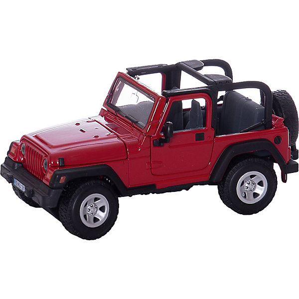 SIKU 4870 Jeep Wrangler 1:32Машинки<br>Jeep Wrangler из серии SIKU FARMER с рулевым управлением с поворотными кулаками. Пружинная подвеска. <br>Двери и капот открываются. Моделью можно управлять с помощью руля. Изготовлена практически полностью из металла.<br><br>Д/Ш/В: 130x55x56 мм<br>Масштаб 1:32<br><br>+++Примечание+++<br>Фирма SIKU оставляет за собой право на изменение цвета и технических характеристик моделей. При демонстрации новинок в ряде случаев используются оригинальные фотографии и прототипы. Поставляемая модель может отличаться от представленной на фотографии.<br>Ширина мм: 159; Глубина мм: 89; Высота мм: 83; Вес г: 219; Возраст от месяцев: 36; Возраст до месяцев: 96; Пол: Мужской; Возраст: Детский; SKU: 1773569;