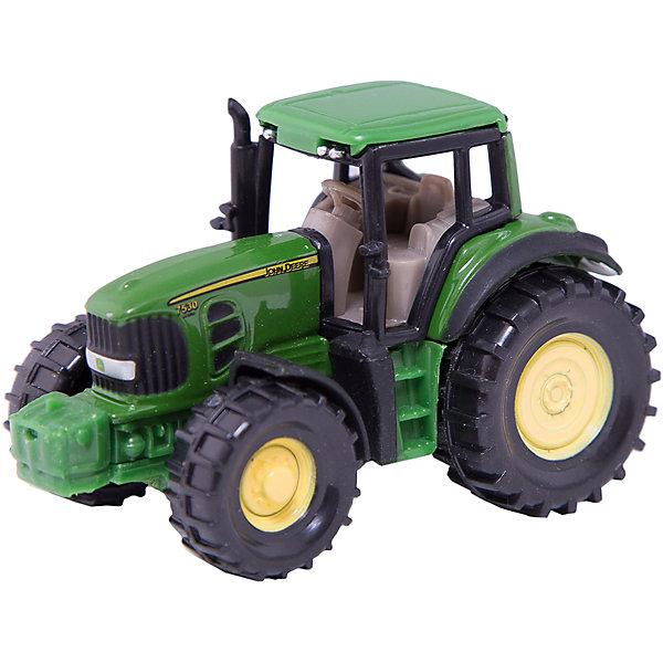 SIKU 1009 Трактор John Deere 7530Машинки<br>SIKU 1009 Трактор John Deere 7530<br><br>Характеристики:<br><br>• Возраст: от 3 лет<br>• Цвет: зеленый<br>• Материал: пластик, металл<br>• Размер игрушки: 6.5 х 3.9 х 3.6 см<br>• Страна: Германия<br><br>Высококачественная сборка машинки позволит ребенку играть, не боясь, что что-то сломается в процессе. Мощные колеса и схожесть с настоящим трактором сделает игру более реальной. С помощью такого трактора ребенок сможет узнать обо всех функциях, которые выполняет настоящая машина. Игрушка не потеряет цвет и не выделяет токсичных веществ, поэтому полностью безопасна для детей.<br><br>SIKU 1009 Трактор John Deere 7530 можно купить в нашем интернет-магазине.<br>Ширина мм: 98; Глубина мм: 78; Высота мм: 40; Вес г: 49; Возраст от месяцев: 36; Возраст до месяцев: 96; Пол: Мужской; Возраст: Детский; SKU: 1773583;