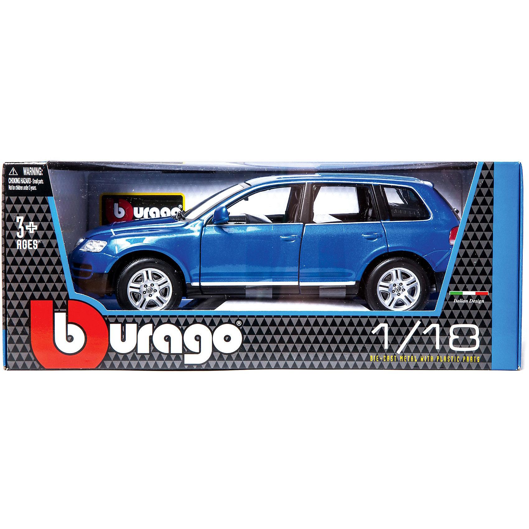 ������ Volkswagen Touareg ������., 1:18, Bburago