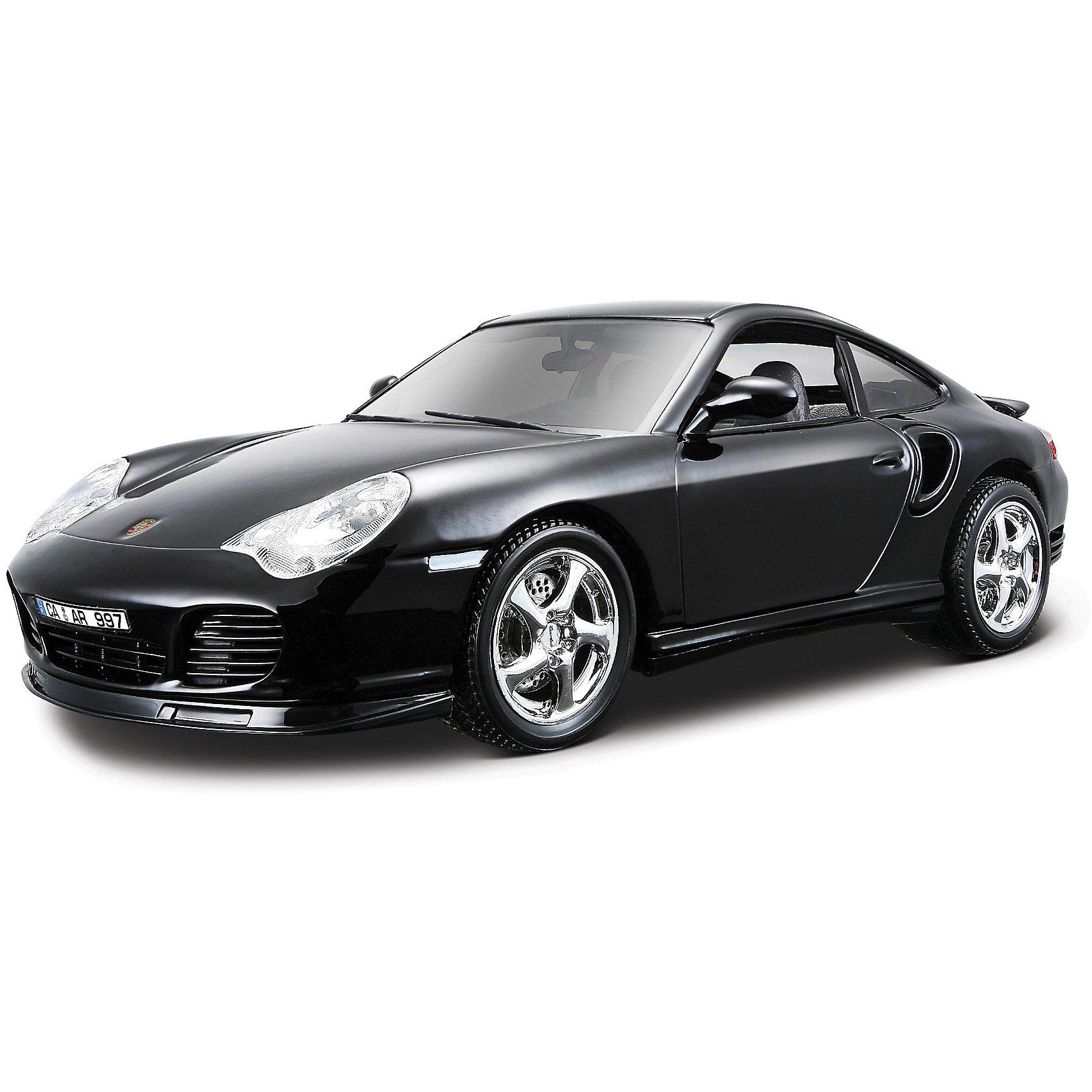 Машина Porshe 911 Turbo металл., 1:18, Bburago